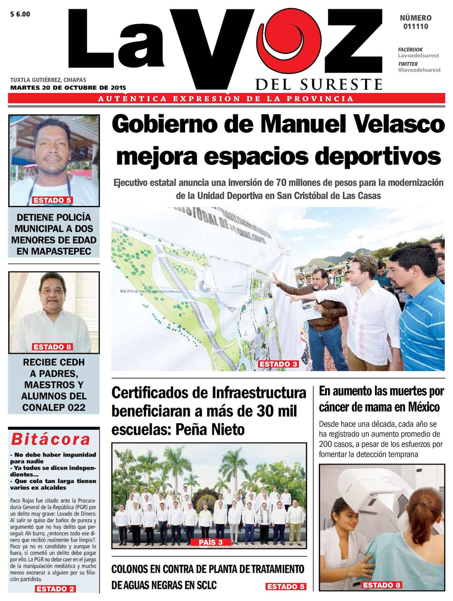 Calaméo - La Voz del Sureste c291b78e489