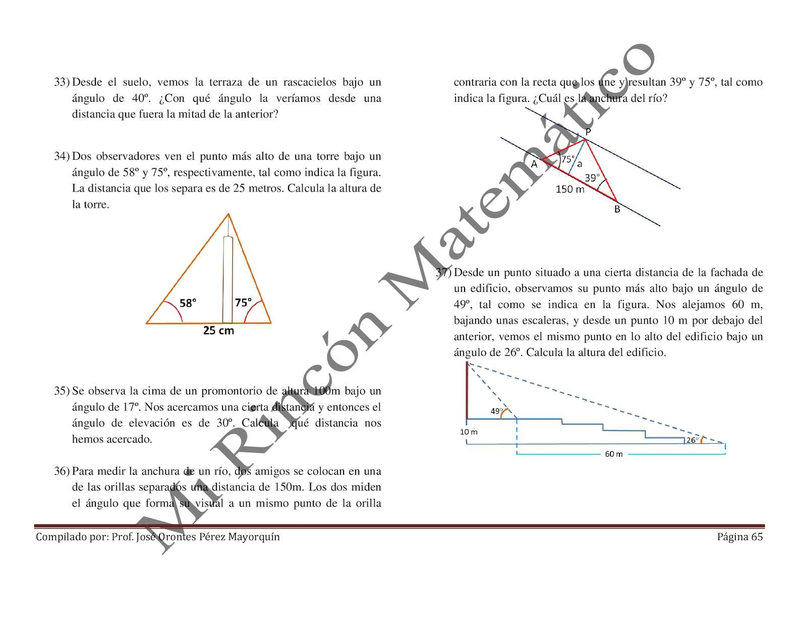 Compendio Del Modulo De Trigonometría Calameo Downloader