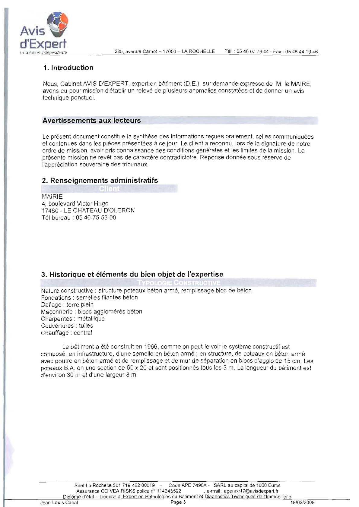 Beton De Synthese Avis rapport d'expertise batimant - calameo downloader