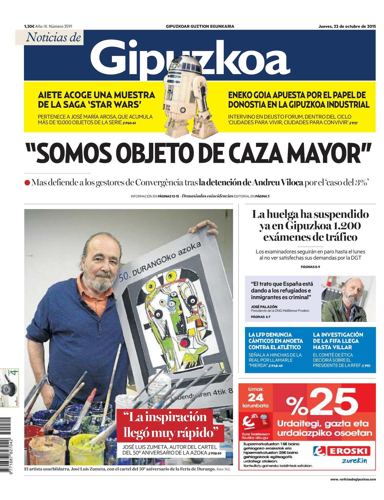 Calaméo Noticias De Gipuzkoa 20151022