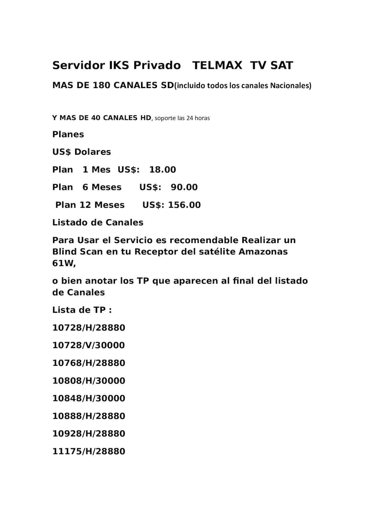 Calaméo - Servidor Iks Privado Telmax Tv Sat
