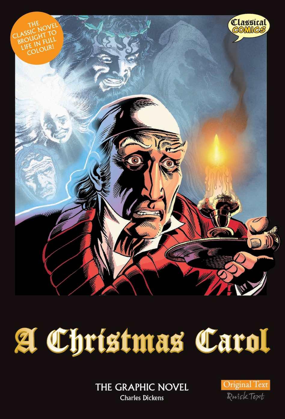 A Christmas Carol Pdf.Calameo A Christmas Carol Comic Classics