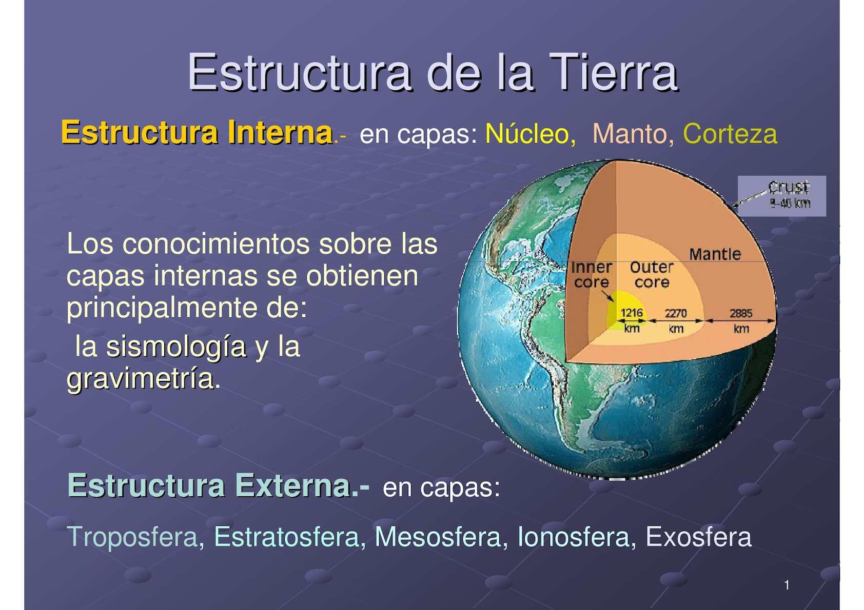 Calaméo Estructura De La Tierra