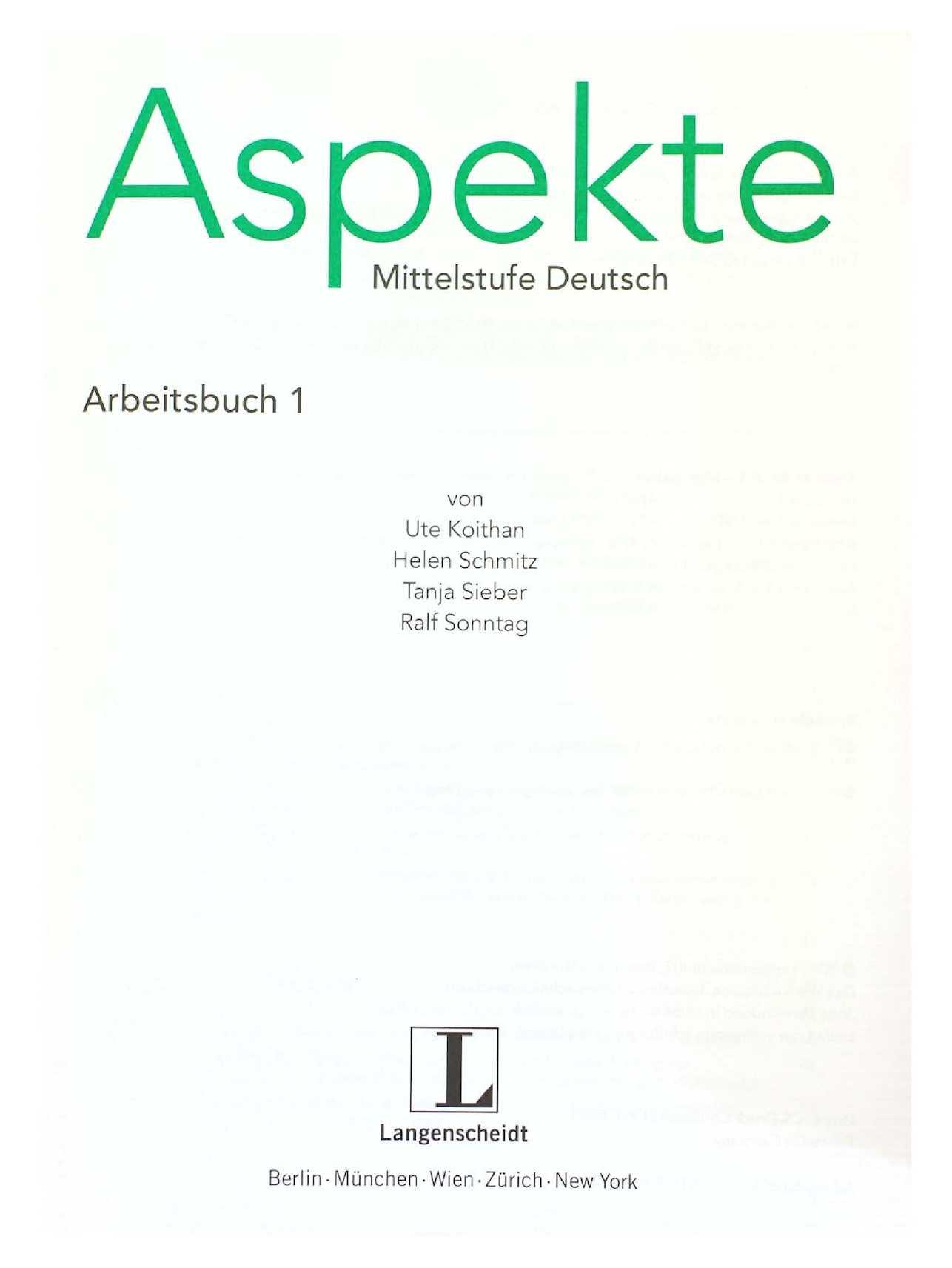 ASPEKTE B2 TÉLÉCHARGER