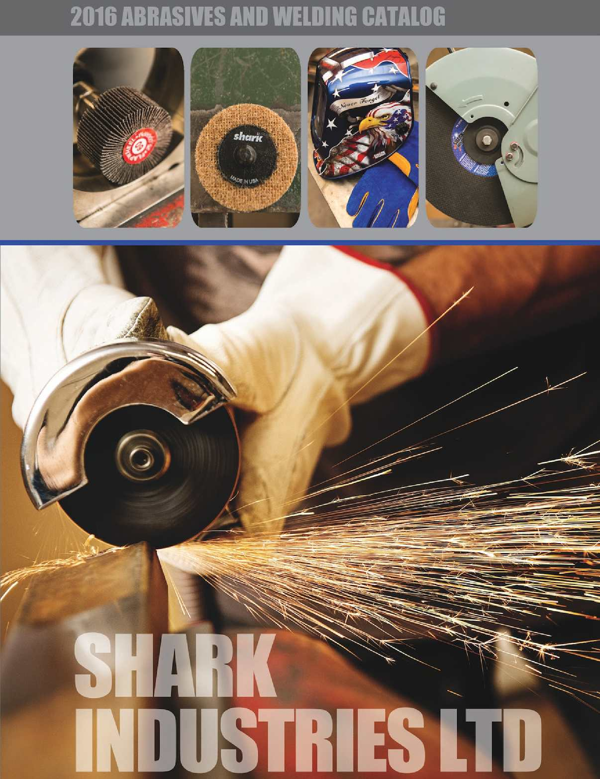5-Pack Shark Welding 121-5 Shark 12-Inch by 1//8-Inch by 1-Inch 36-Grit Single Reinforced Cut-Off Wheel