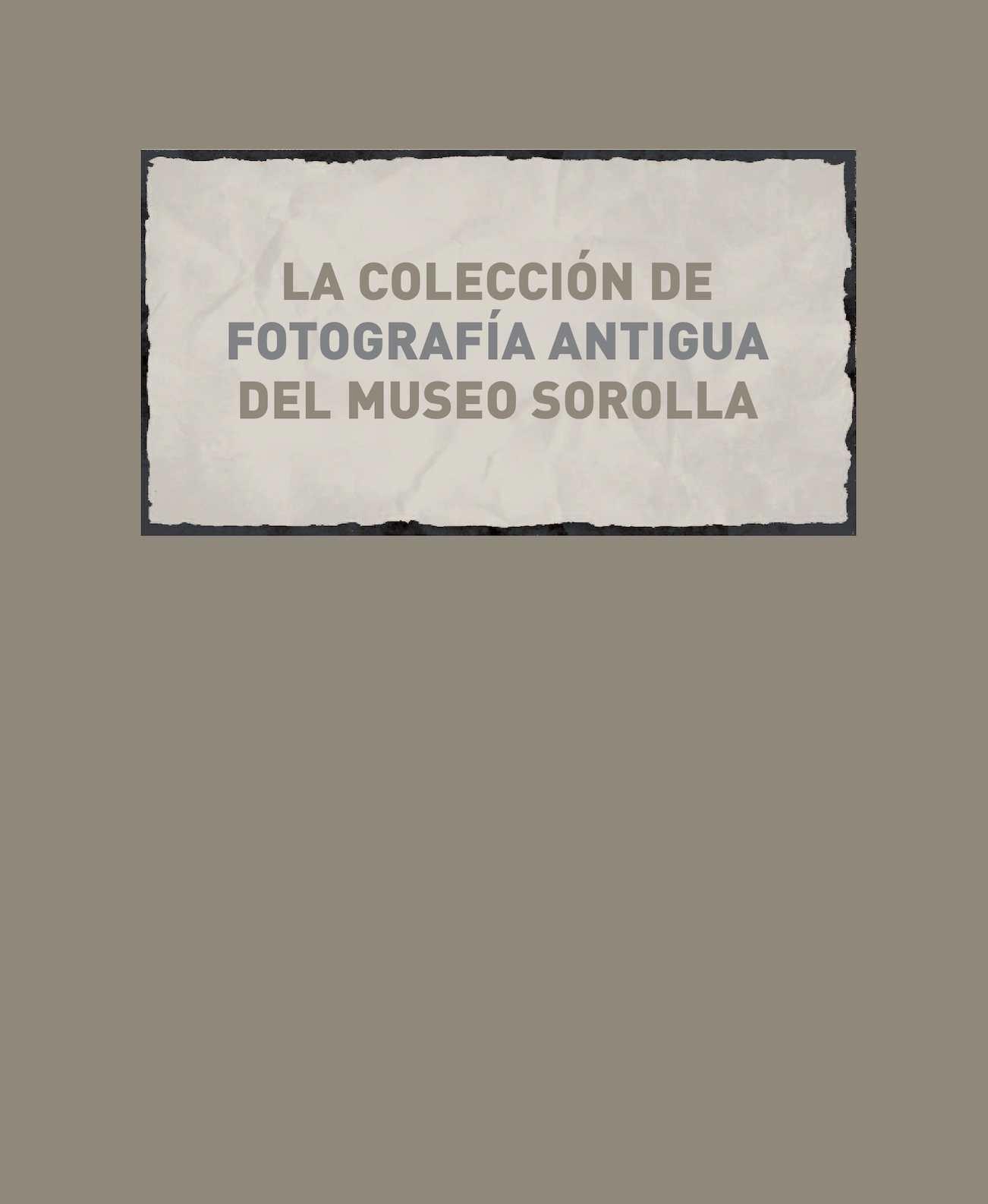 Sorolla Museo Antigua Colección Calaméo La De Fotografía Del dthrCsQ