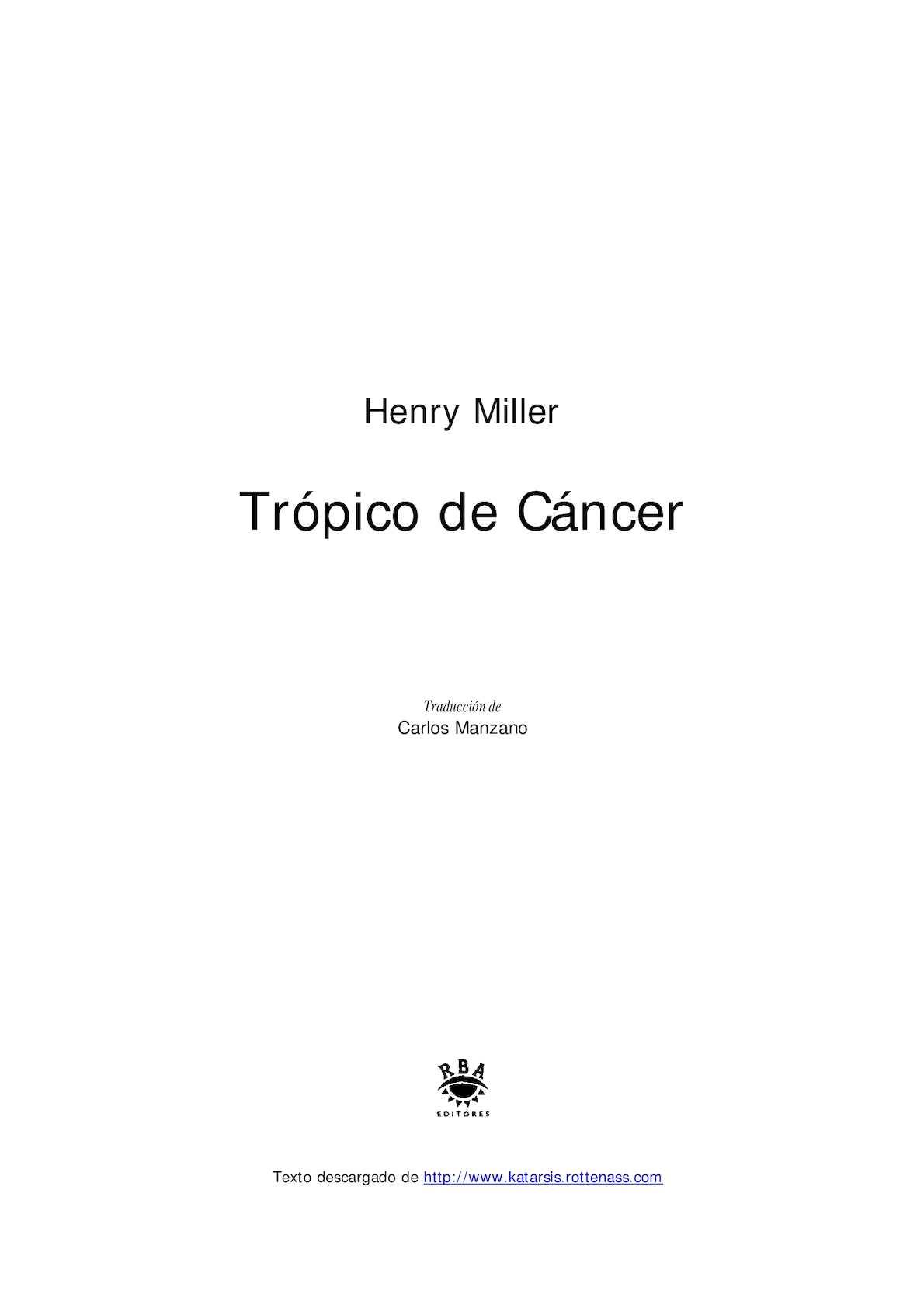 Calaméo Miller Tropicode Cancer