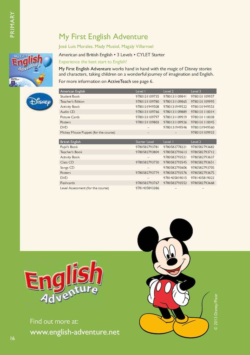 English Adventure 2 Student Book