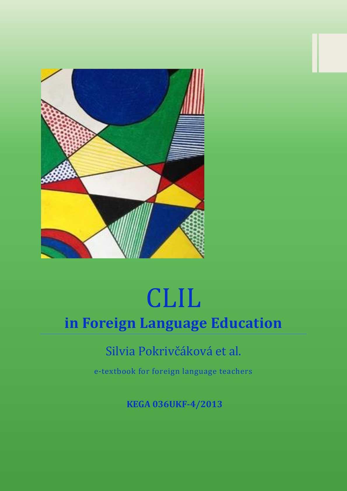Calaméo - E Textbook Clil In Fle Final2 (1)