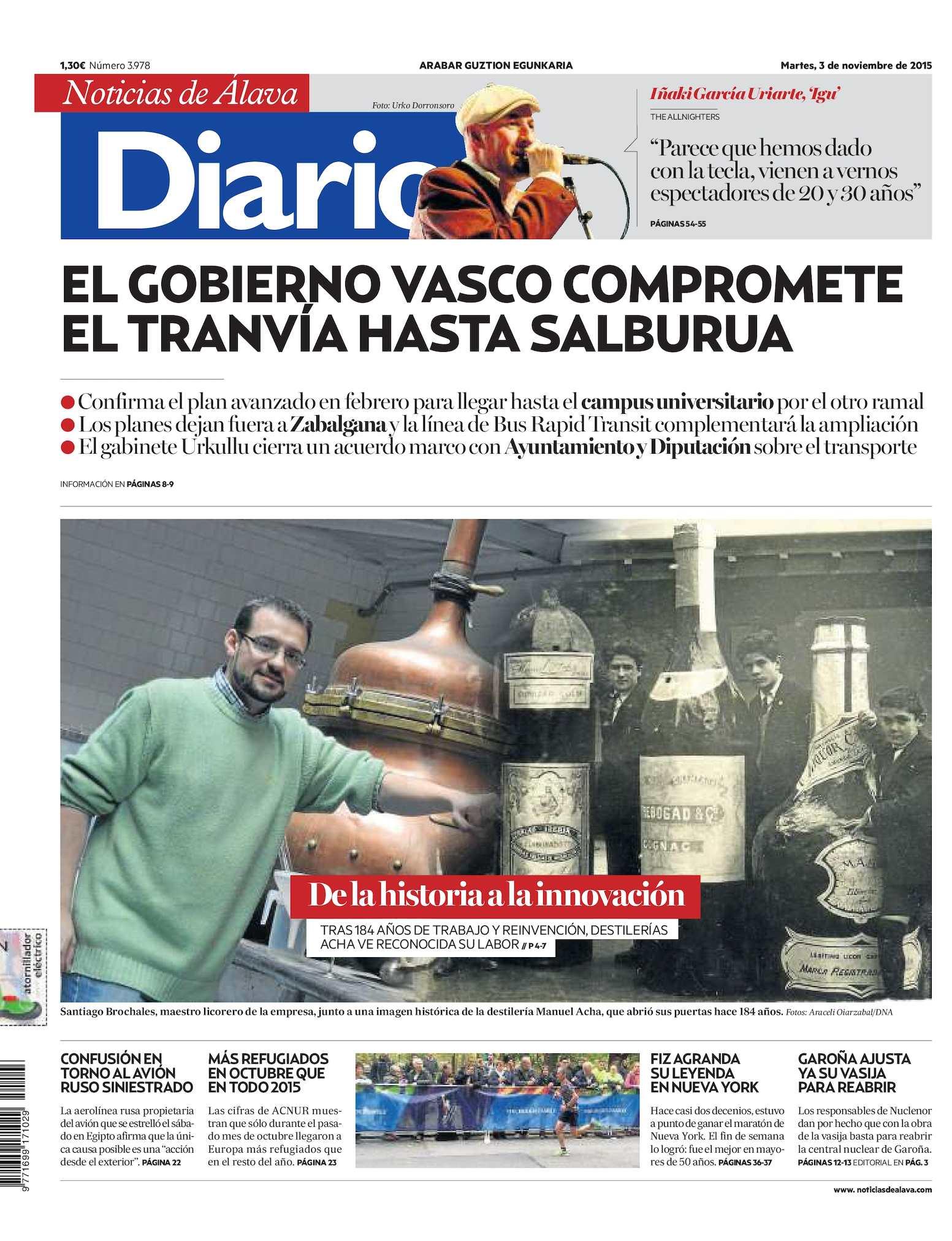 d8323ab9d0 Calaméo - Diario de Noticias de Álava 20151103