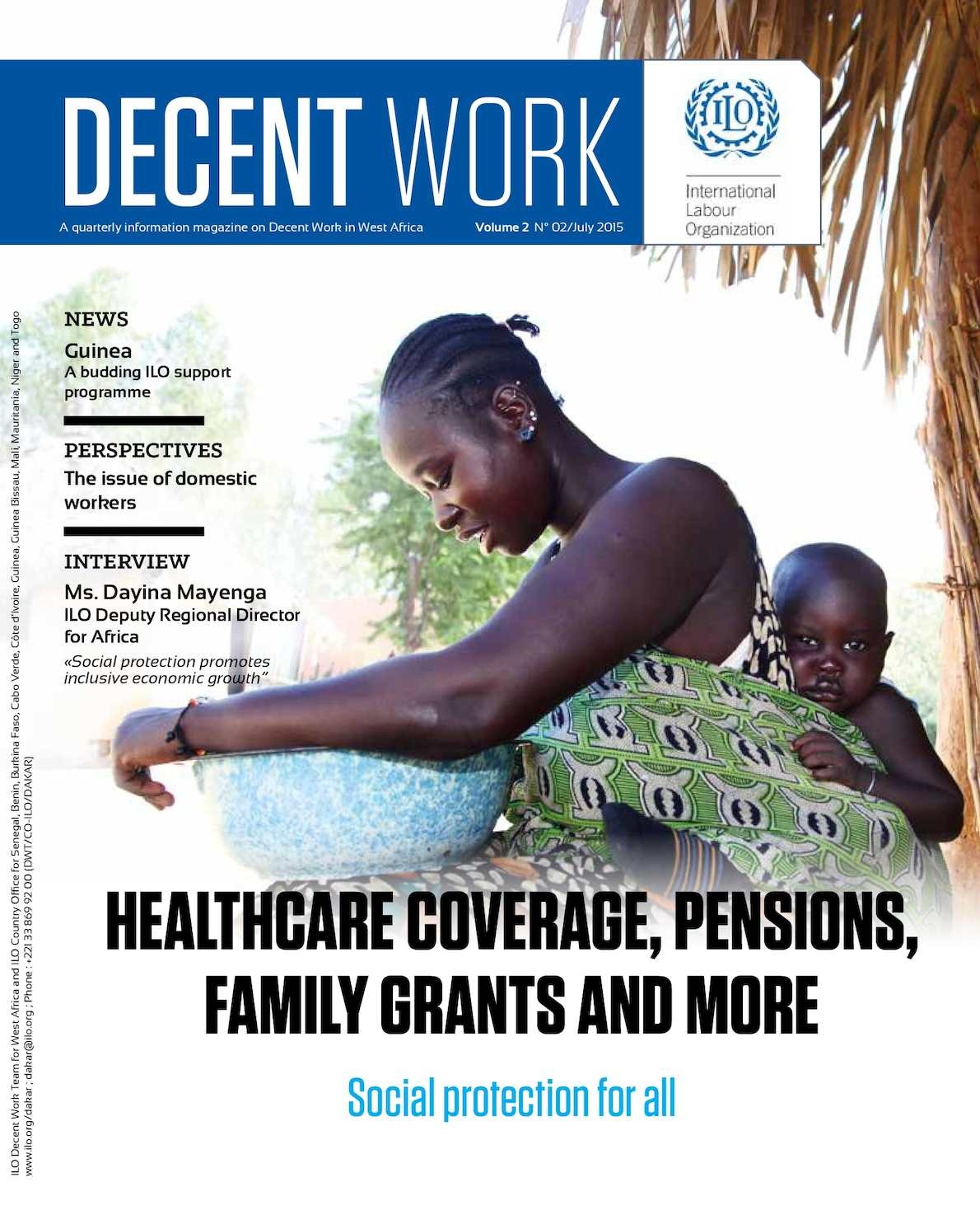 Calaméo - Decent Work: information magazine on labour in