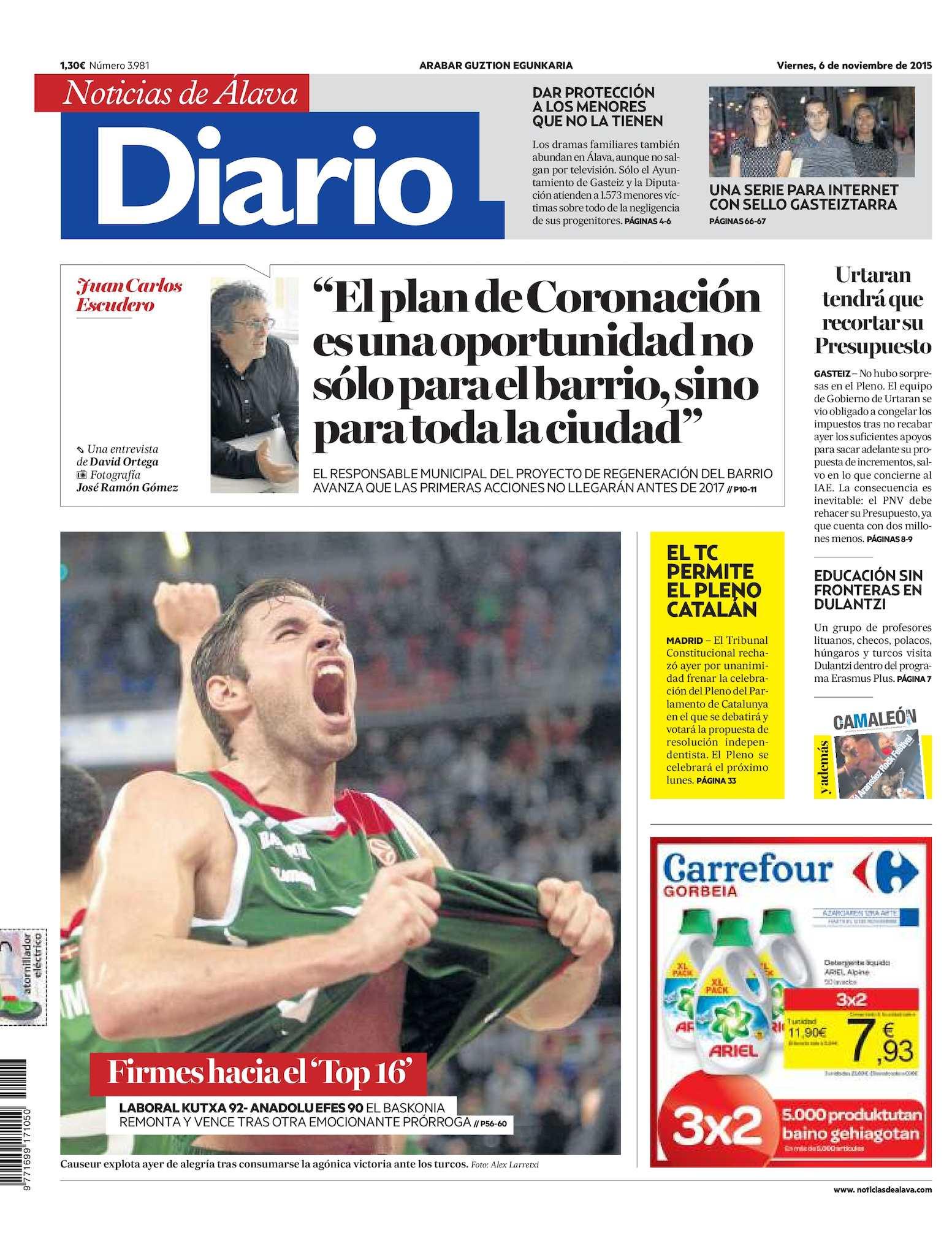 7b91f3c917 Calaméo - Diario de Noticias de Álava 20151106