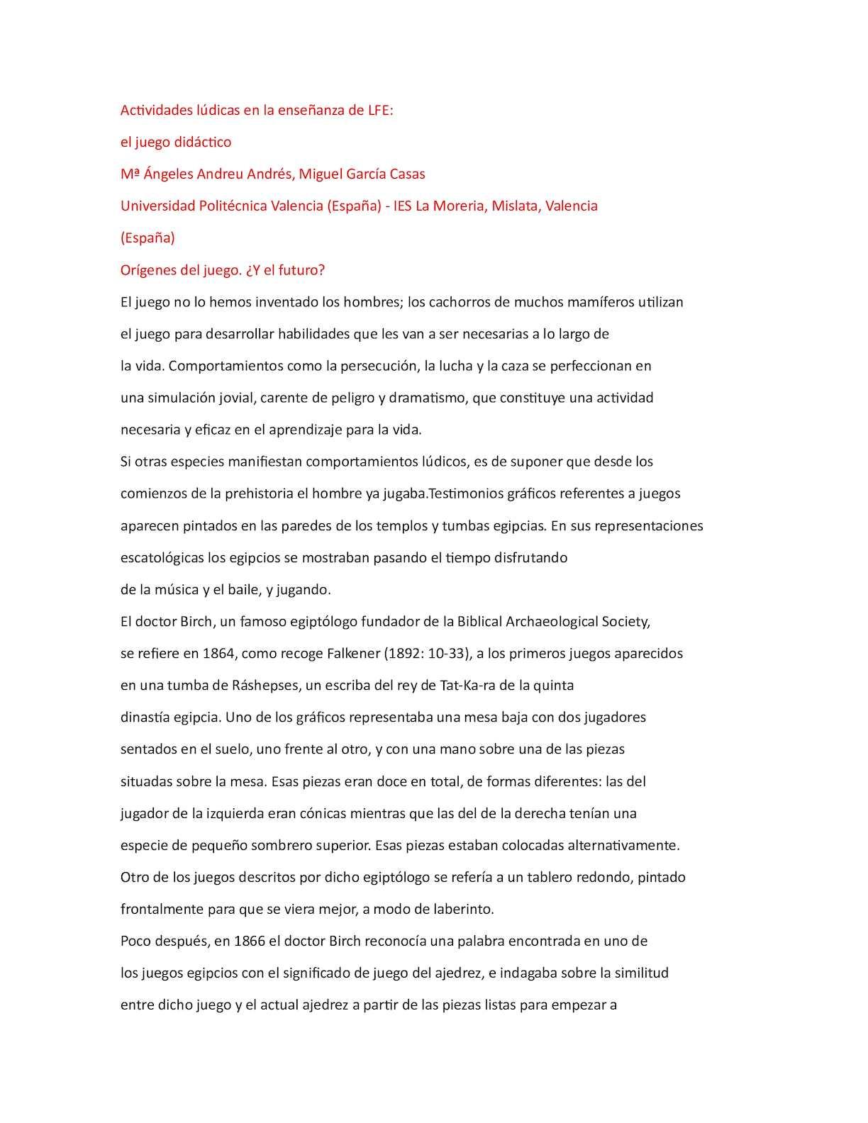Calameo Actividades Ludicas En La Ensenanza De Lfe