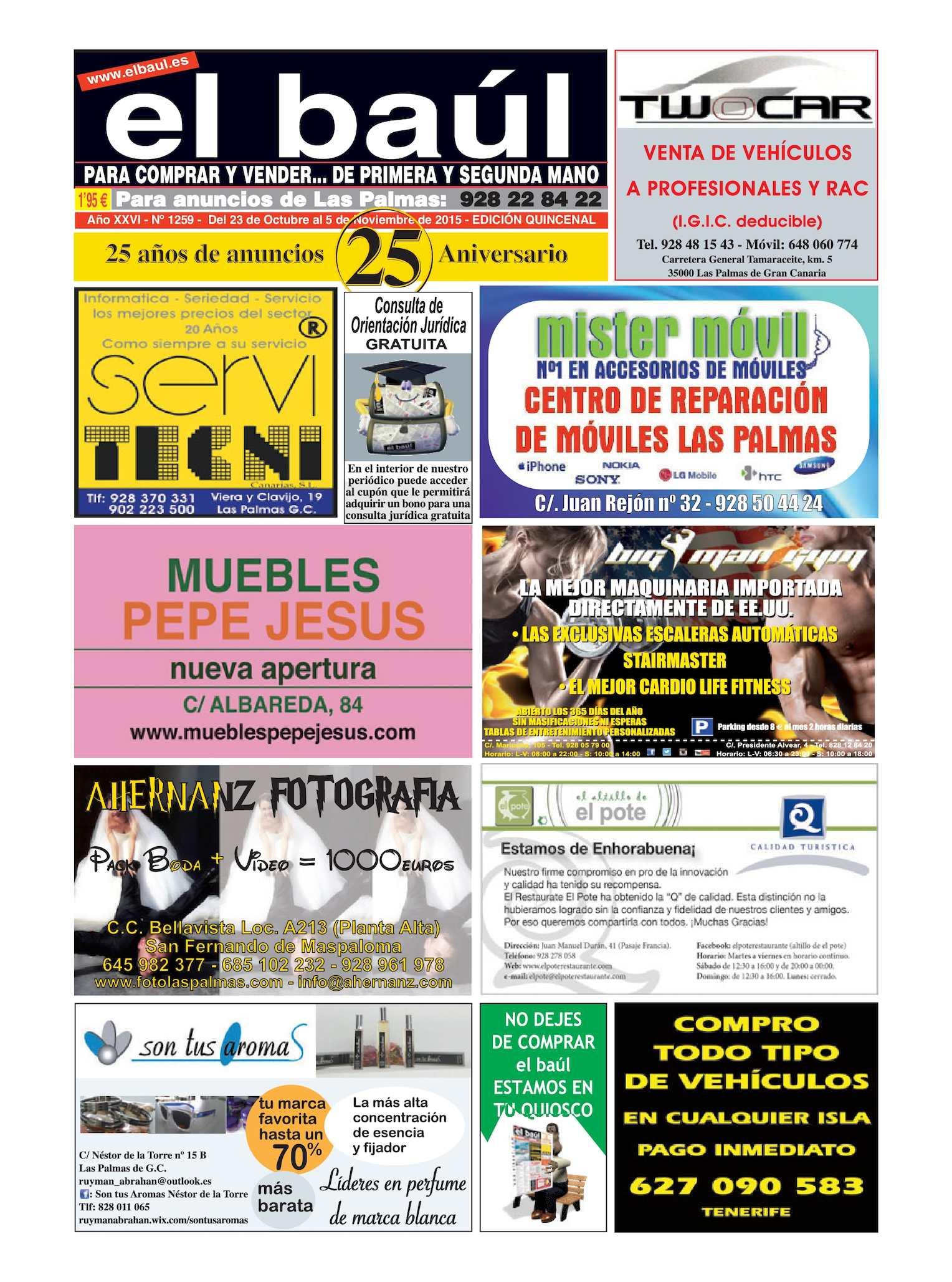 9976244ad328 Calaméo - Periódico El Baúl segunda mano edición Las Palmas