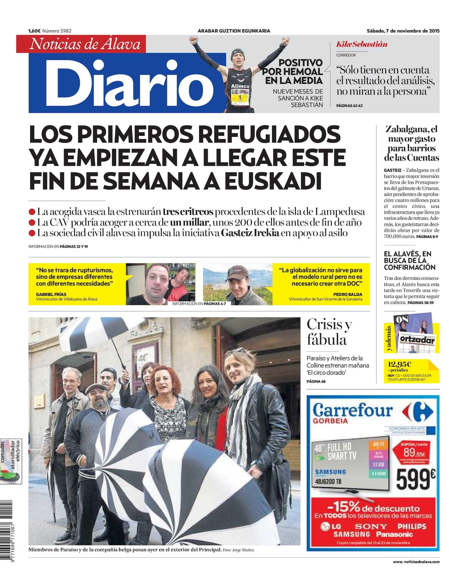 e7f9b308 Calaméo - Diario de Noticias de Álava 20151107