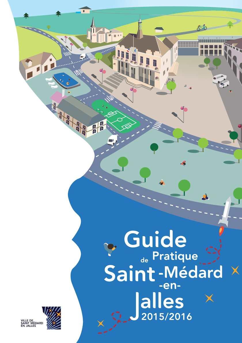 Calam o guide pratique saint m dard en jalles 2015 2016 for Piscine municipale st medard en jalles
