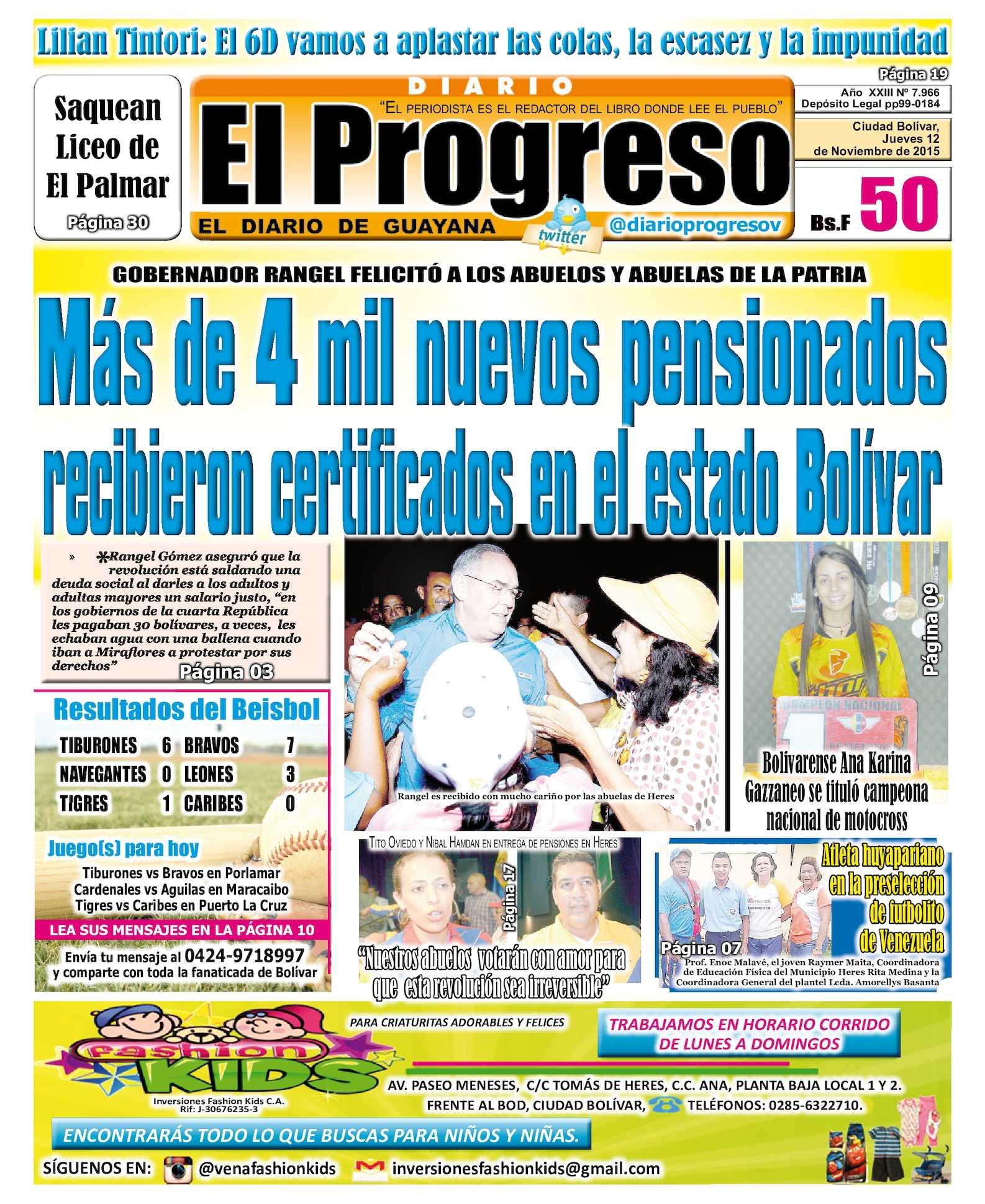 Calaméo DiarioelprogresoEDICIÓNDIGITAL 12 11 2015