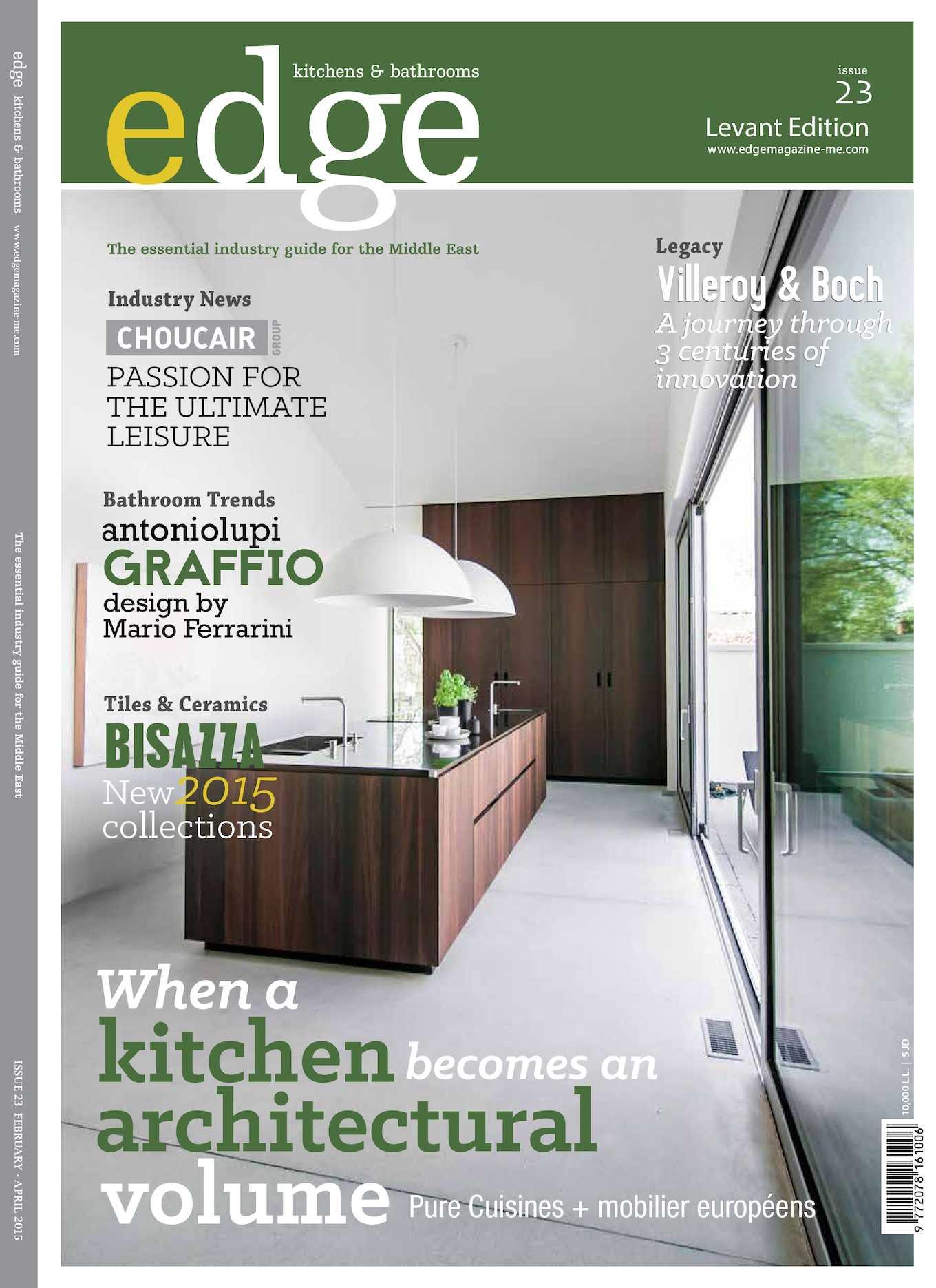 Fiore 94 Bisazza.Calameo Edge Levant Feb2015 Issue23