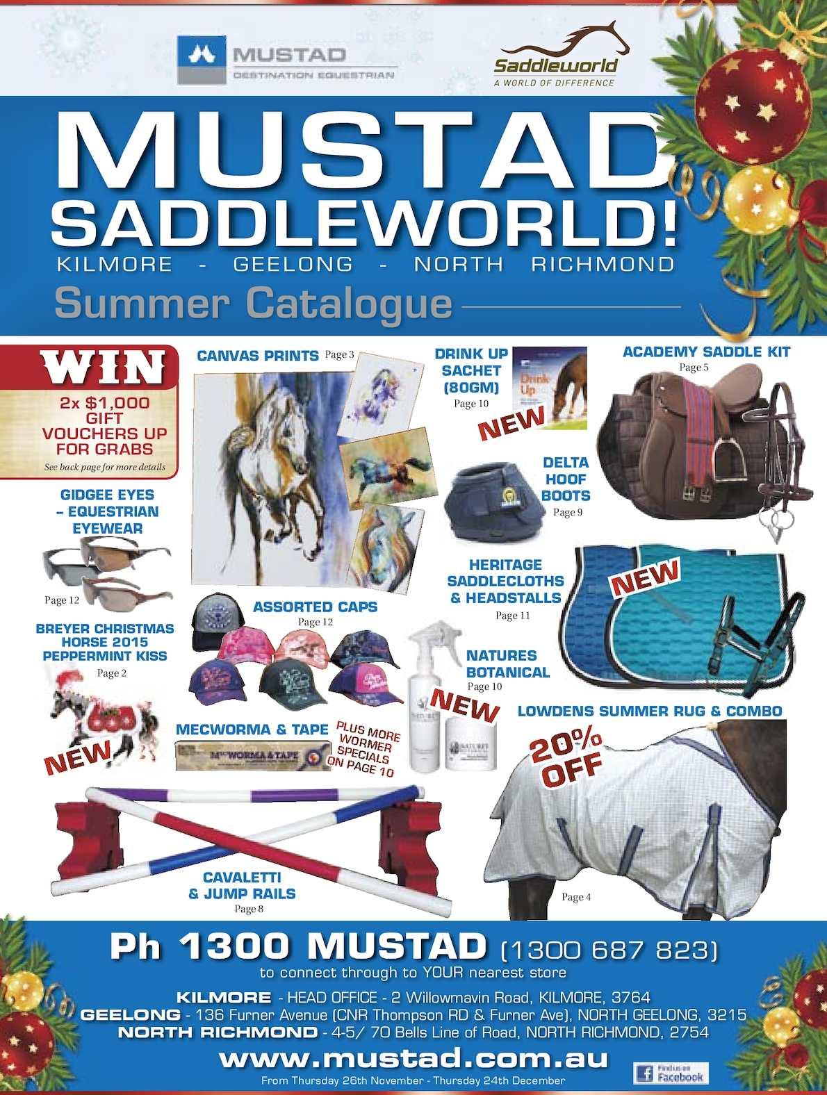 Calaméo - Mustad Saddleworld Summer Catalogue