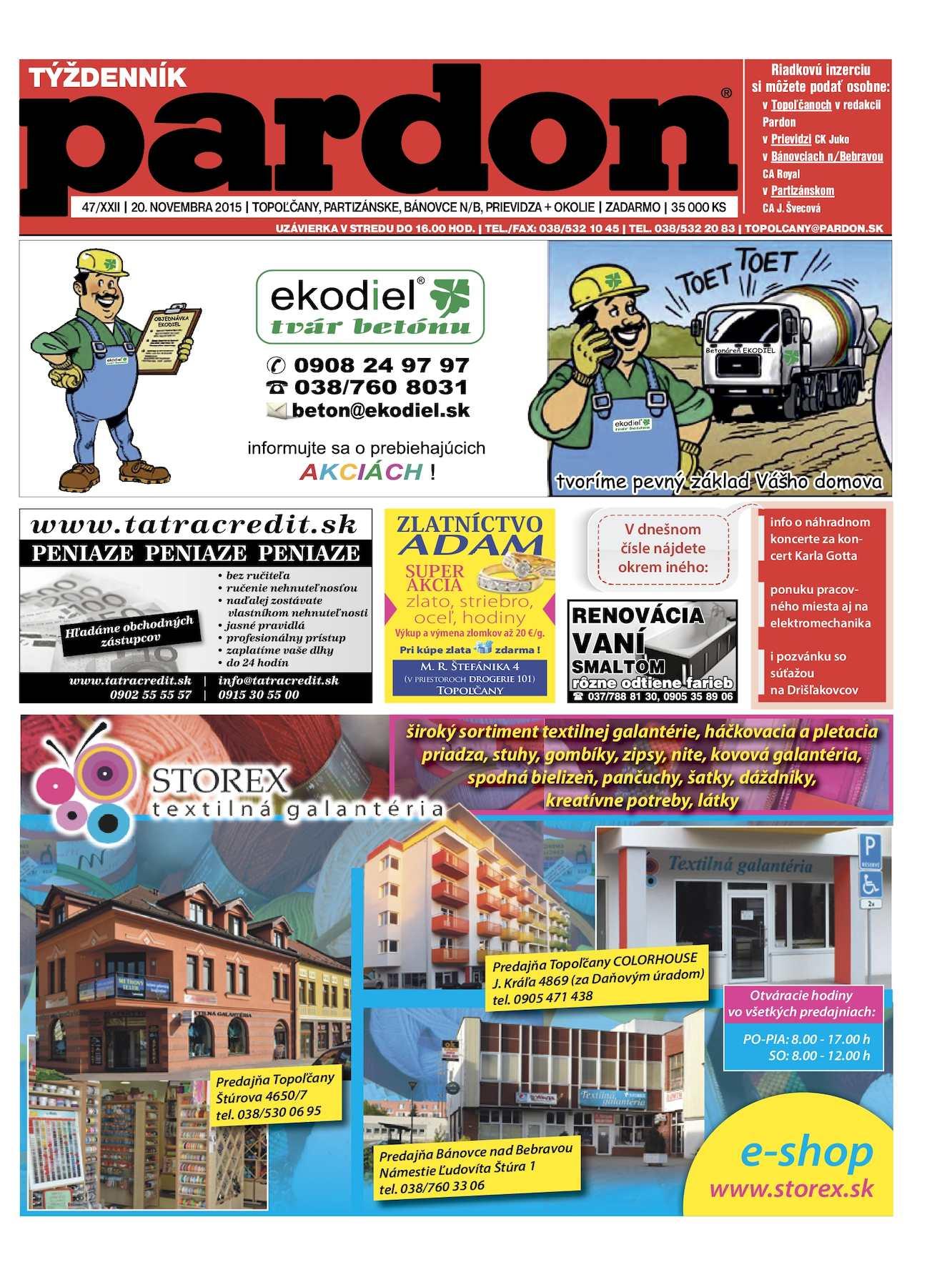 264b5f147f65 Calaméo - Pardon Topoľčany 47 2015
