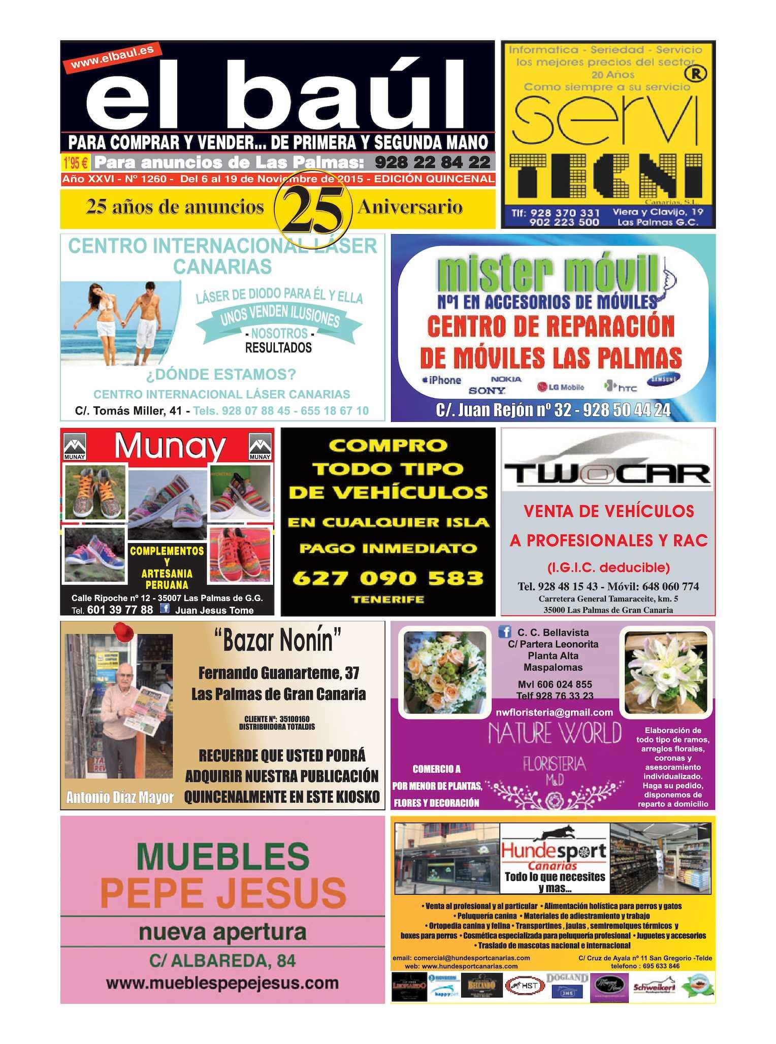 Calaméo - Periódico El Baúl segunda mano edición Las Palmas 73bfd7a191d