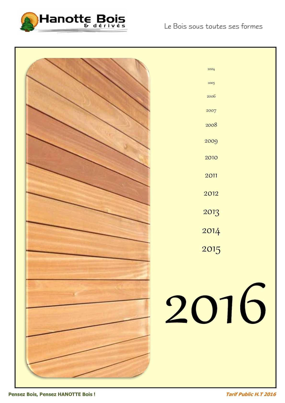 Bois Rétifié Prix M2 calaméo - catalogue 2016
