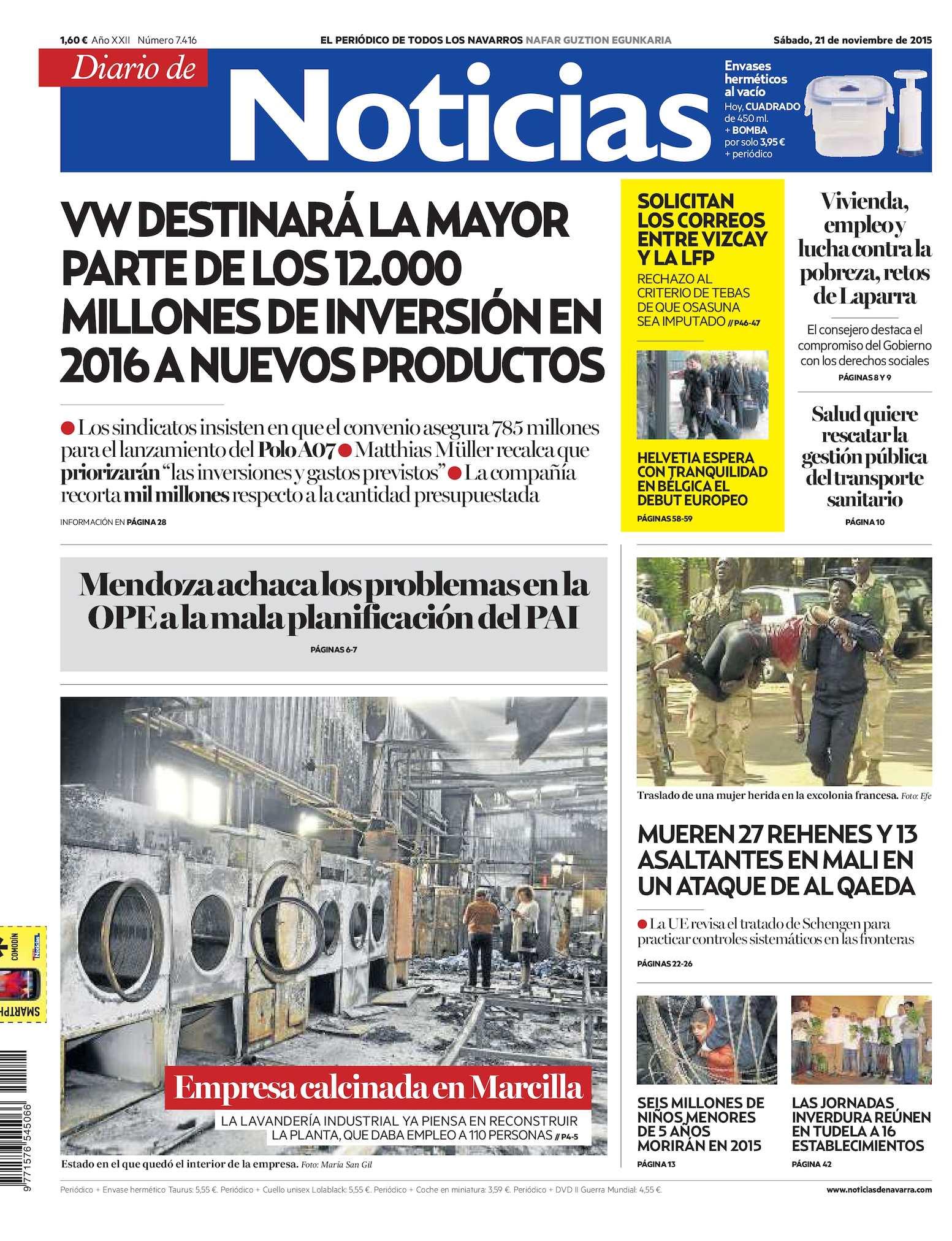 outlet store 4e395 aceed Calaméo - Diario de Noticias 20151121