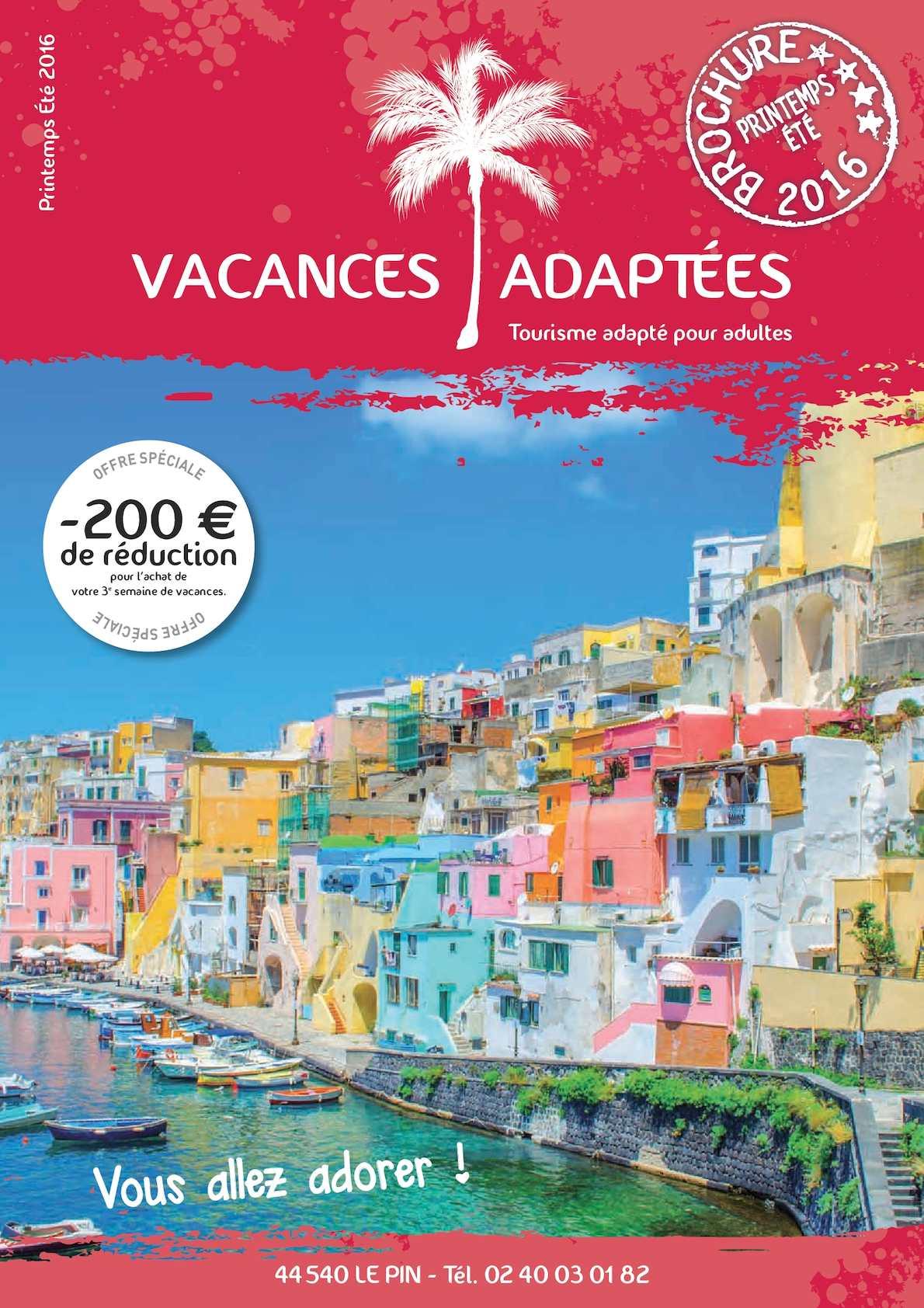 a7c336232535a0 Calaméo - Vacances Brochures Été 2016