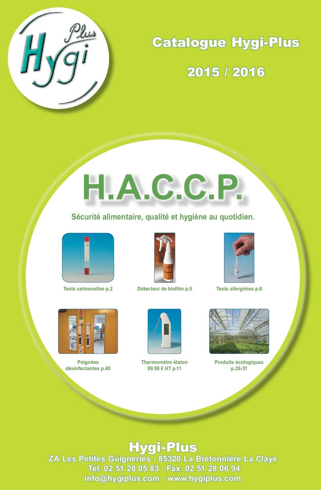 Calaméo Catalogue hygiplus