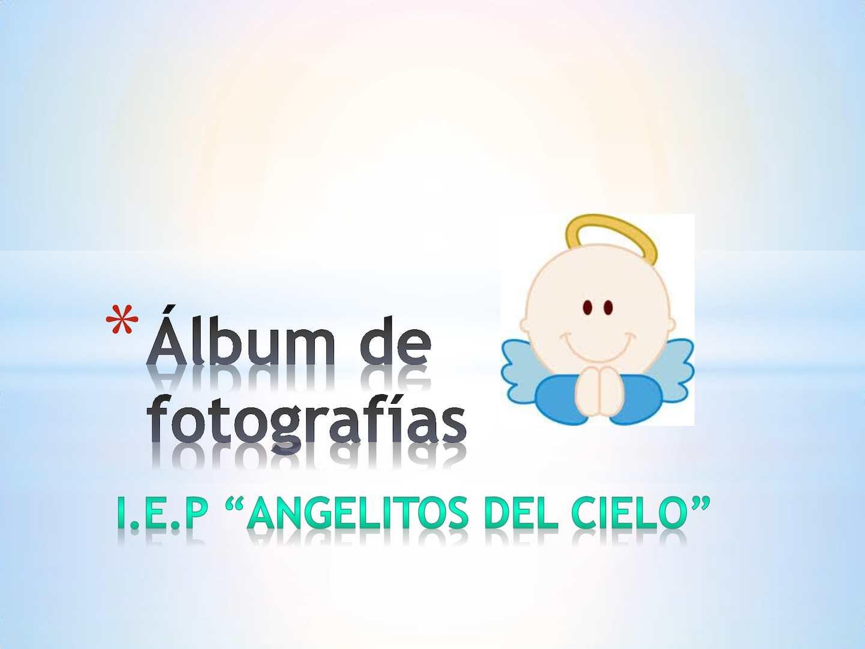 Calaméo álbum De Fotografías Angelitos Del Cielo