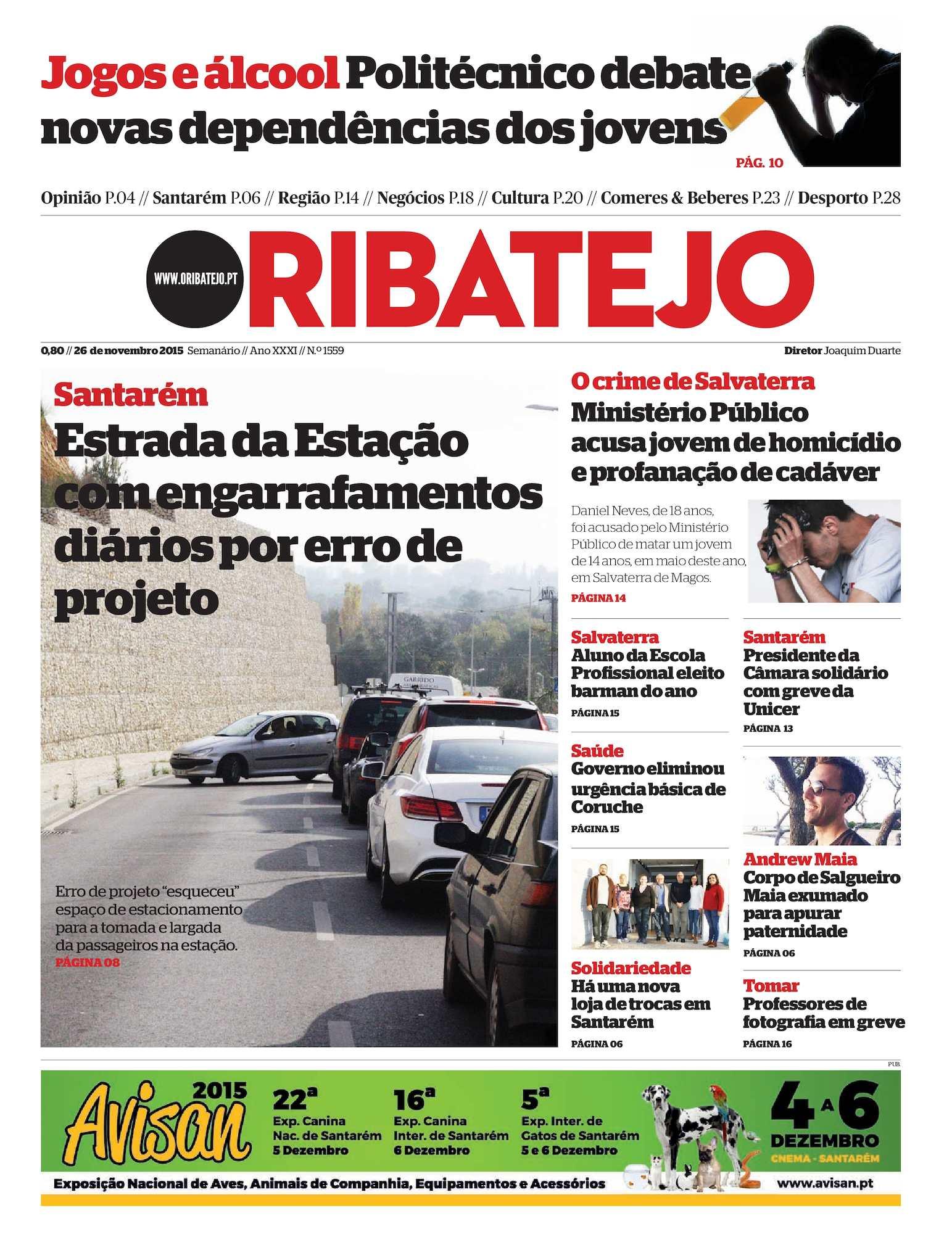 Calaméo - Edição 1559 do Jornal O Ribatejo - 26 de Novembro de 2015 9f9d2890382f9