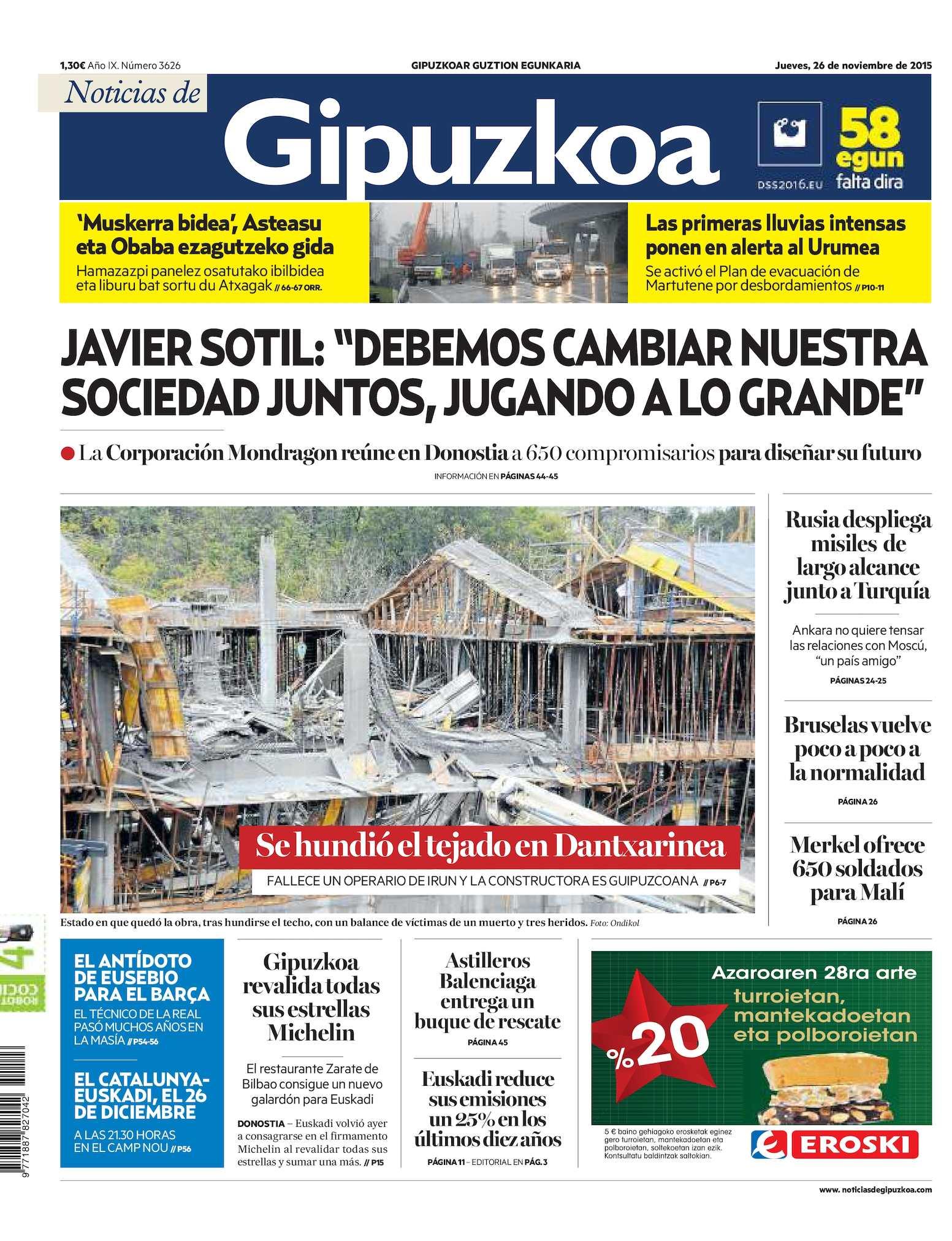 5f97bdea2d Calaméo - Noticias de Gipuzkoa 20151126