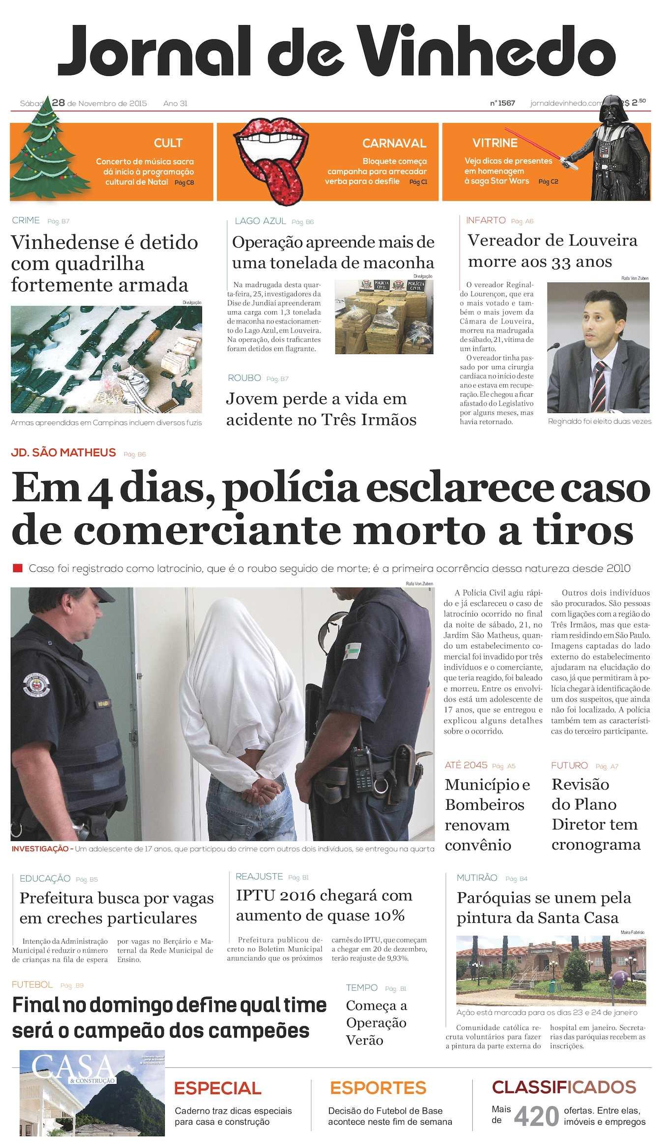 28acbb68c8d18 Calaméo - Jornal De Vinhedo Sábado 28 De Novembro De 2015 Edic 1567 Ok