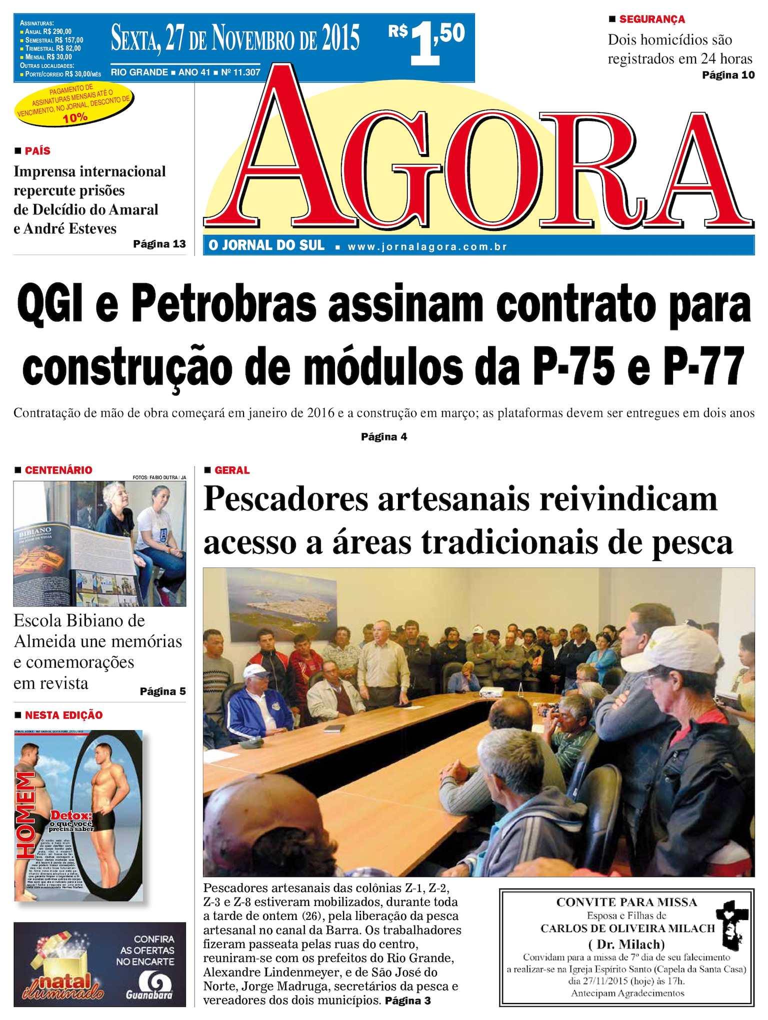 Calaméo - Jornal Agora - Edição 11307 - 27 de Novembro de 2015 62d8b35dc7e