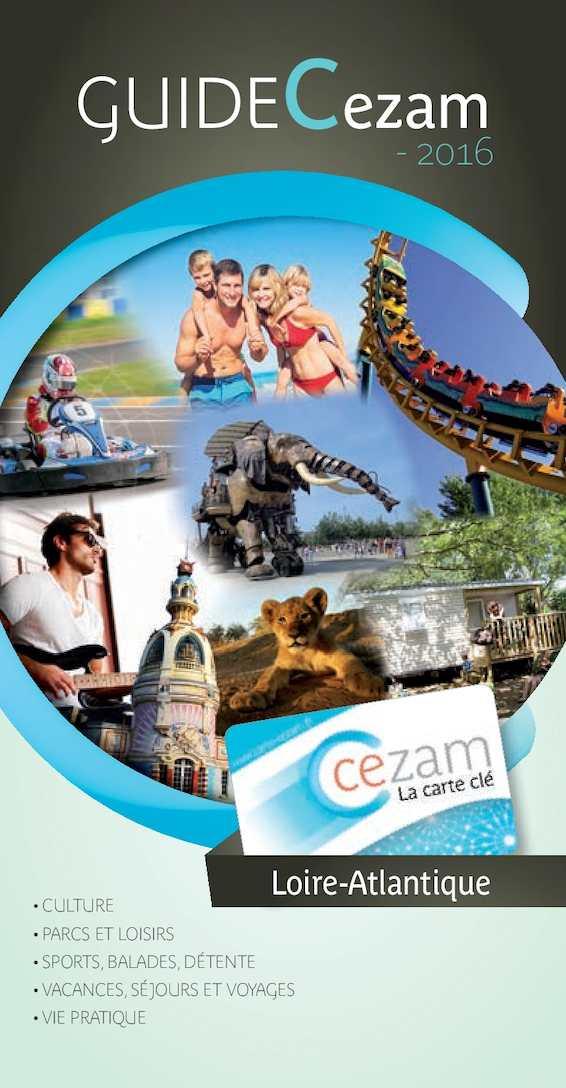 Carte Cezam Leclerc Voyages.Calameo Guide Cezam 2016 44