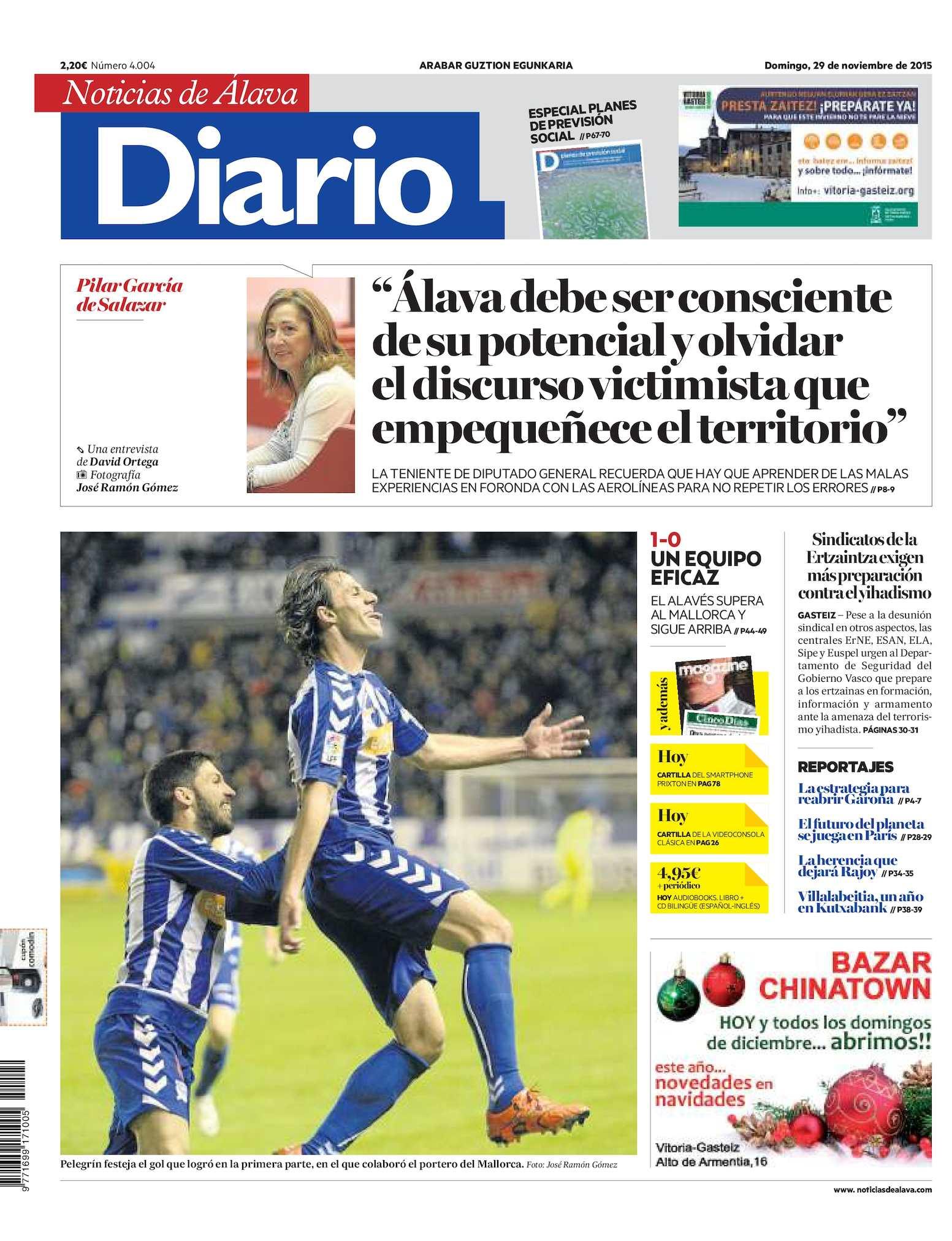 73bf42059 Calaméo - Diario de Noticias de Álava 20151129
