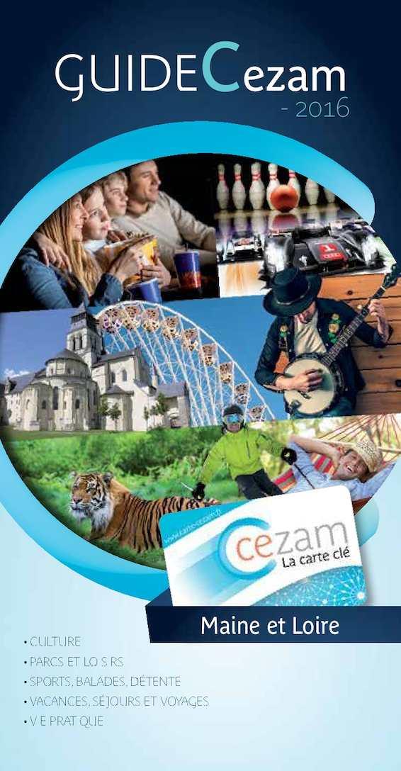 Carte Cezam Leclerc Voyages.Calameo Guide Cezam 2016 49 Cholet