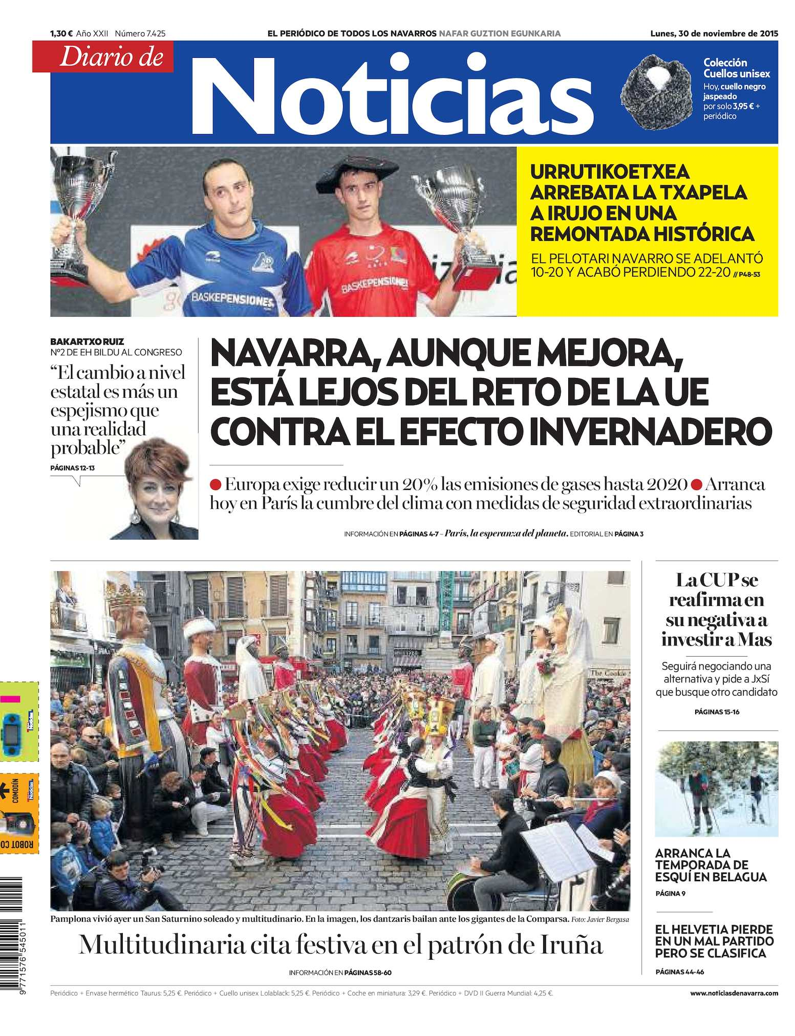 5dd776a4e Calaméo - Diario de Noticias 20151130