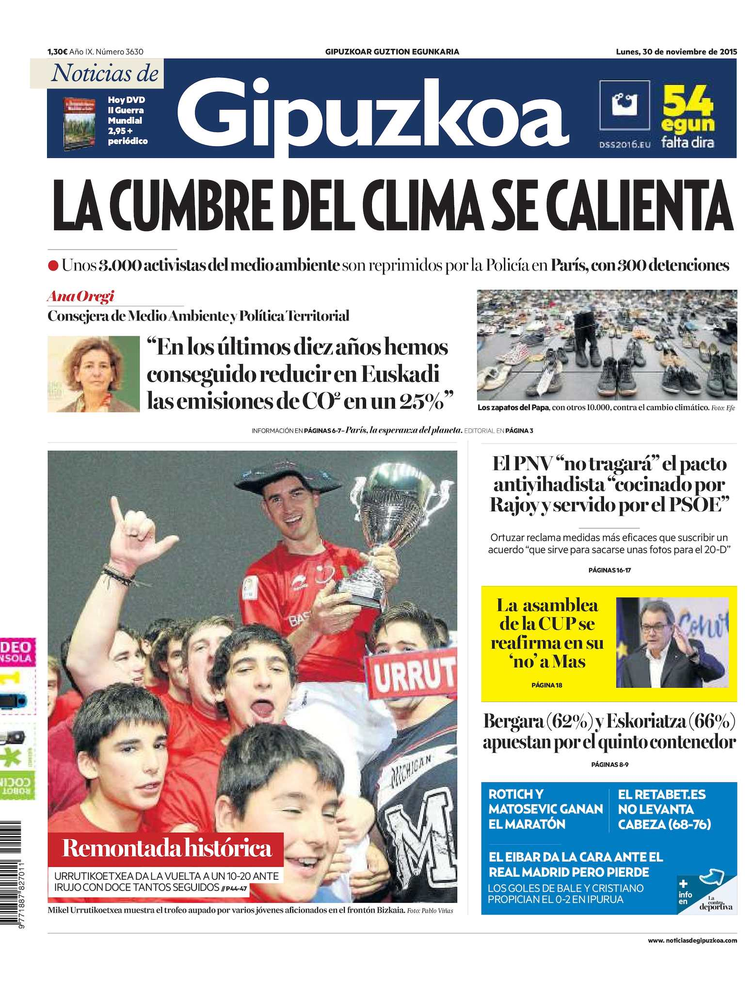 Calameo Noticias De Gipuzkoa 20151130