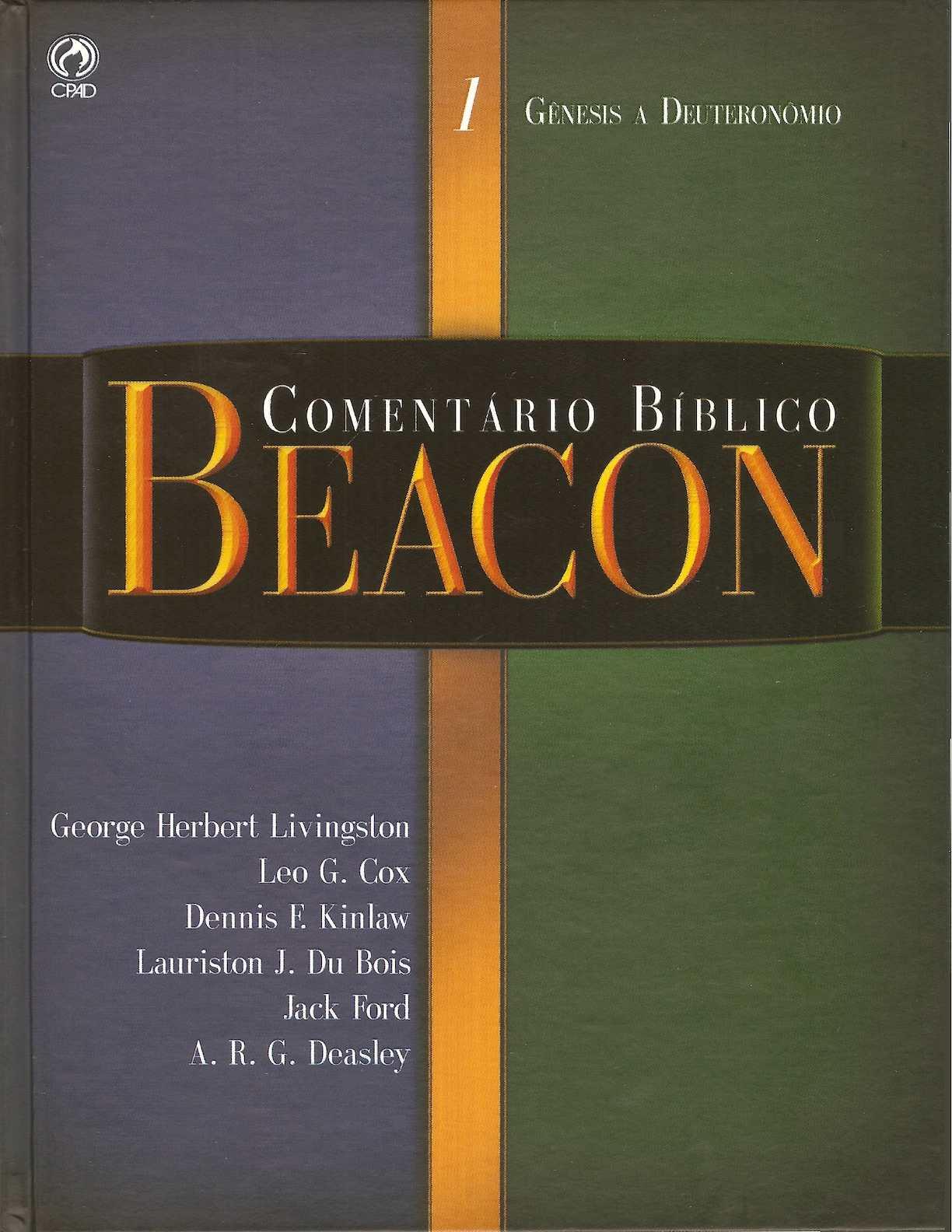 Comentário Beacon Vol 1 - Pentateuco