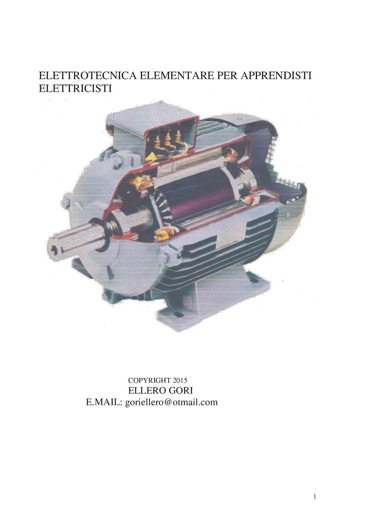 Schema Elettrico Per Avviamento Stella Triangolo : Calaméo elttrotecnica elementare per apprendisti elettricisti