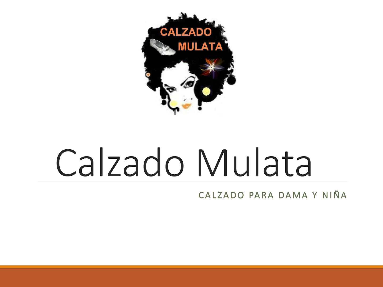 Catalogo Calzado Mulata