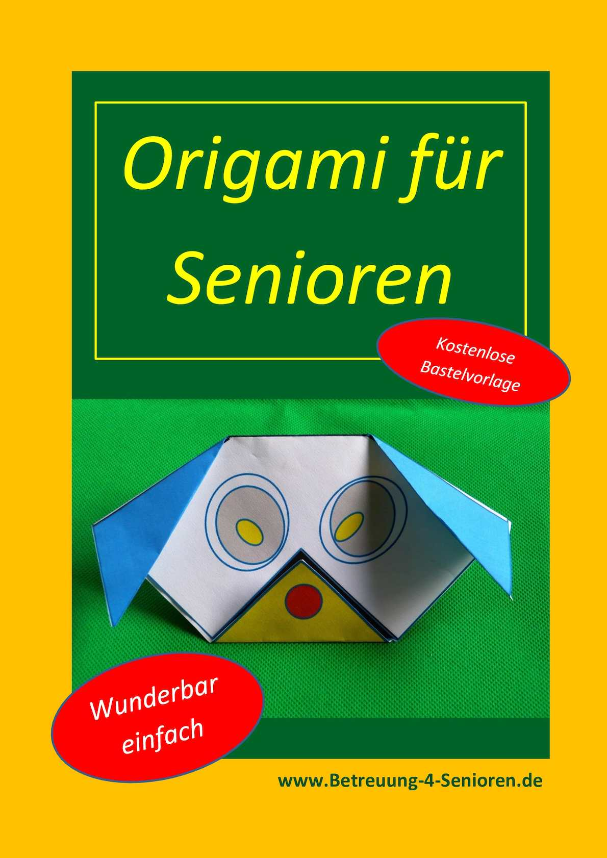 calam o origami f r senioren. Black Bedroom Furniture Sets. Home Design Ideas