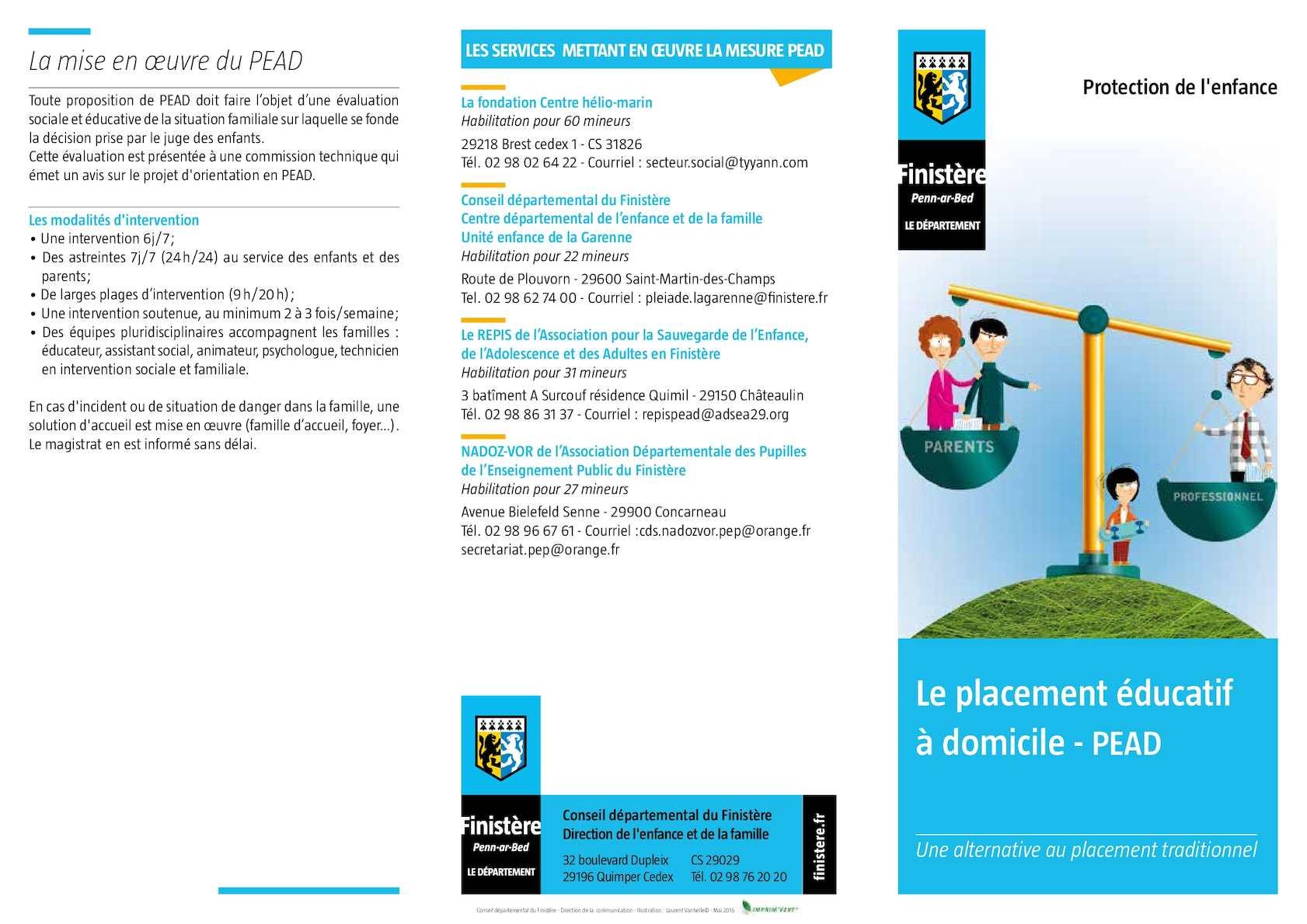 Calaméo - Le placement éducatif à domicile - PEAD