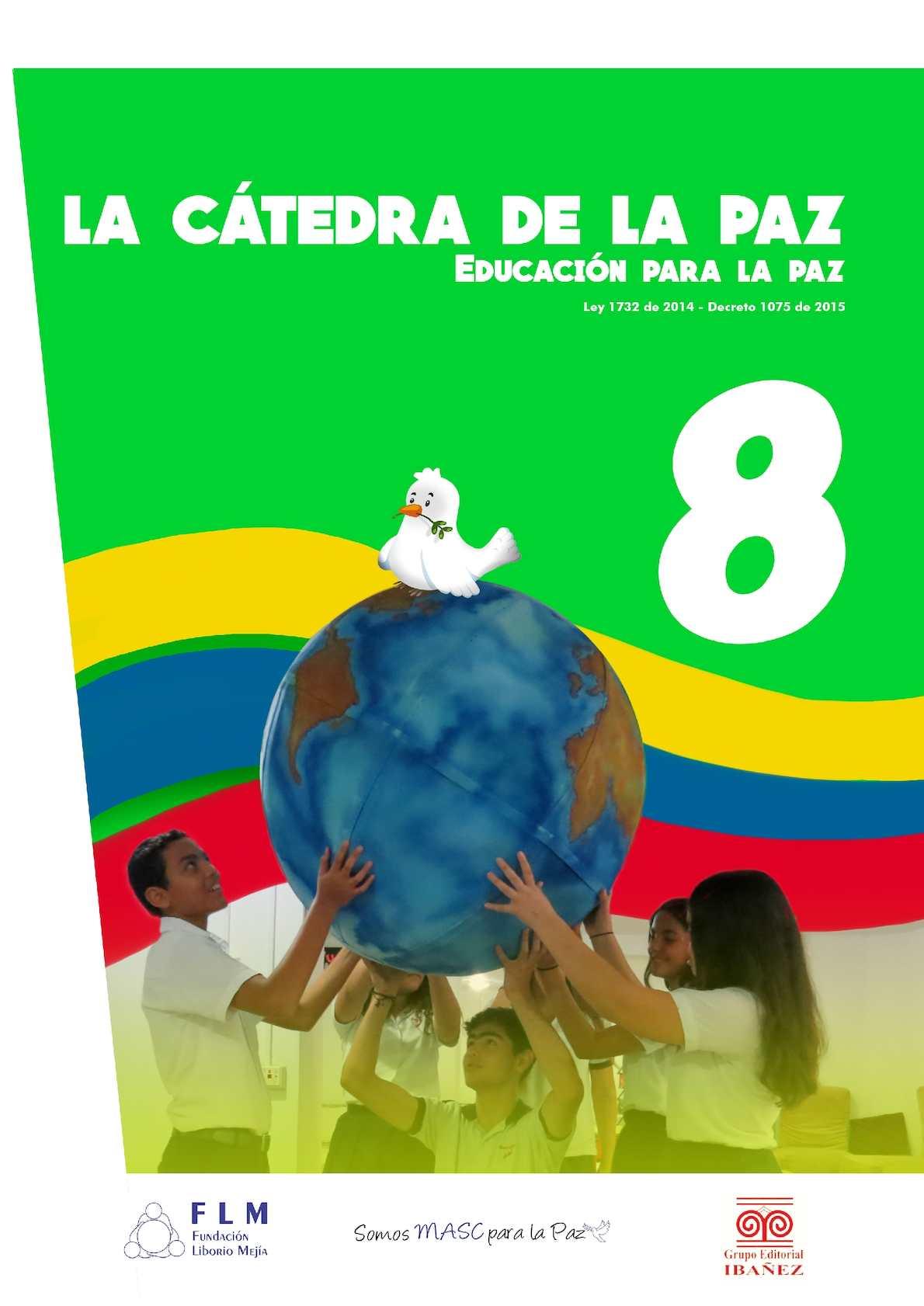 Calaméo - CATEDRA DE LA PAZ- MUESTRA TEXTO ESCOLAR 8