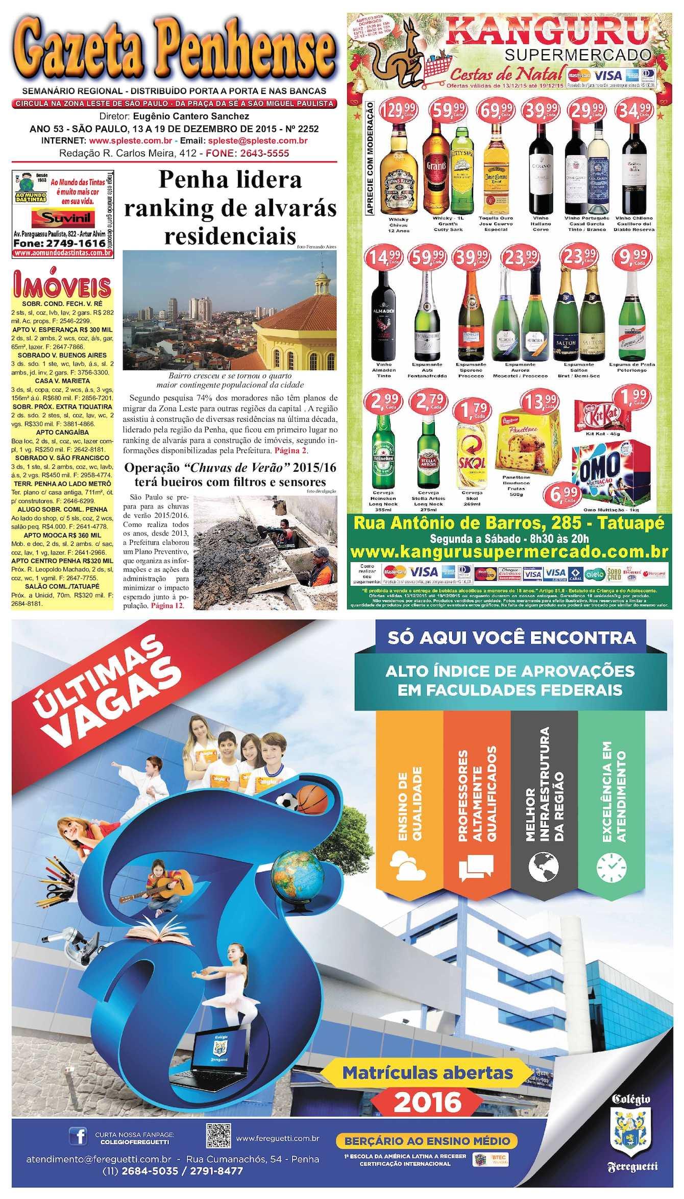 7499927da4ba6 Calaméo - Gazeta Penhense - edição 2252 - 13 a 19.12.15