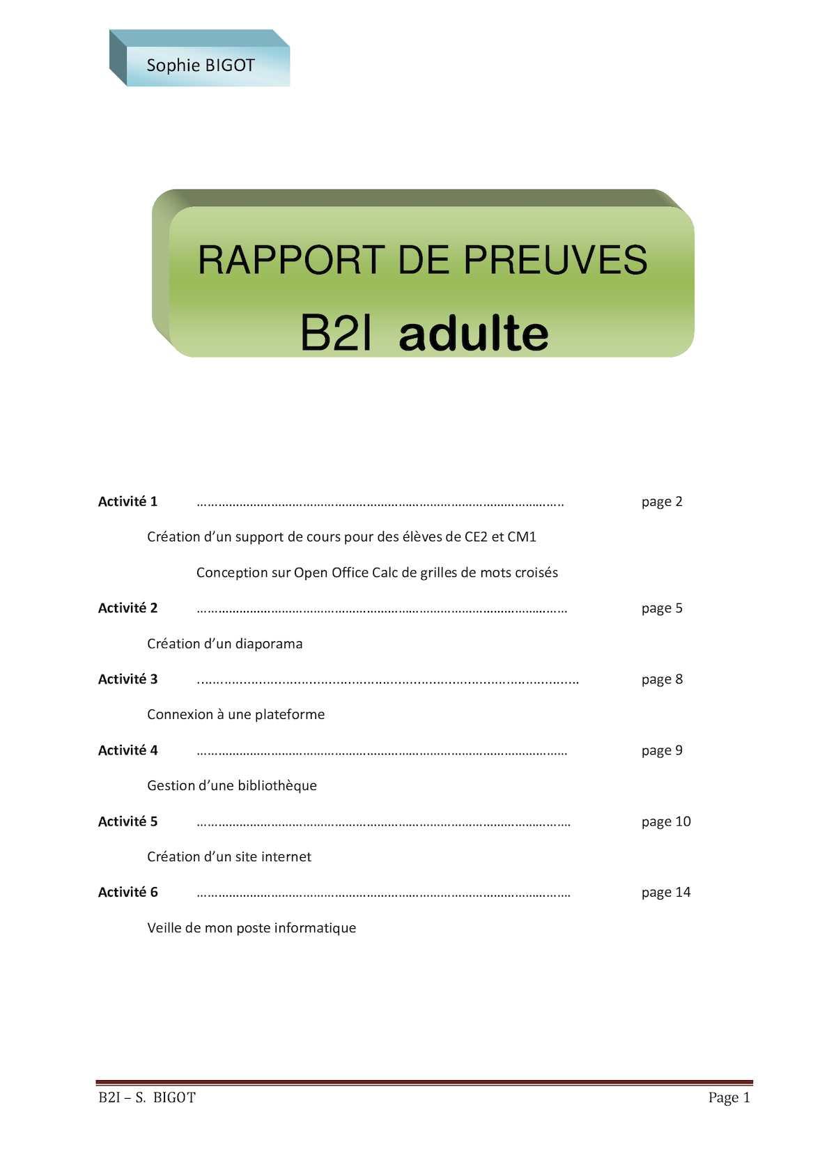 B2I PRIMAIRE GRATUITEMENT TÉLÉCHARGER
