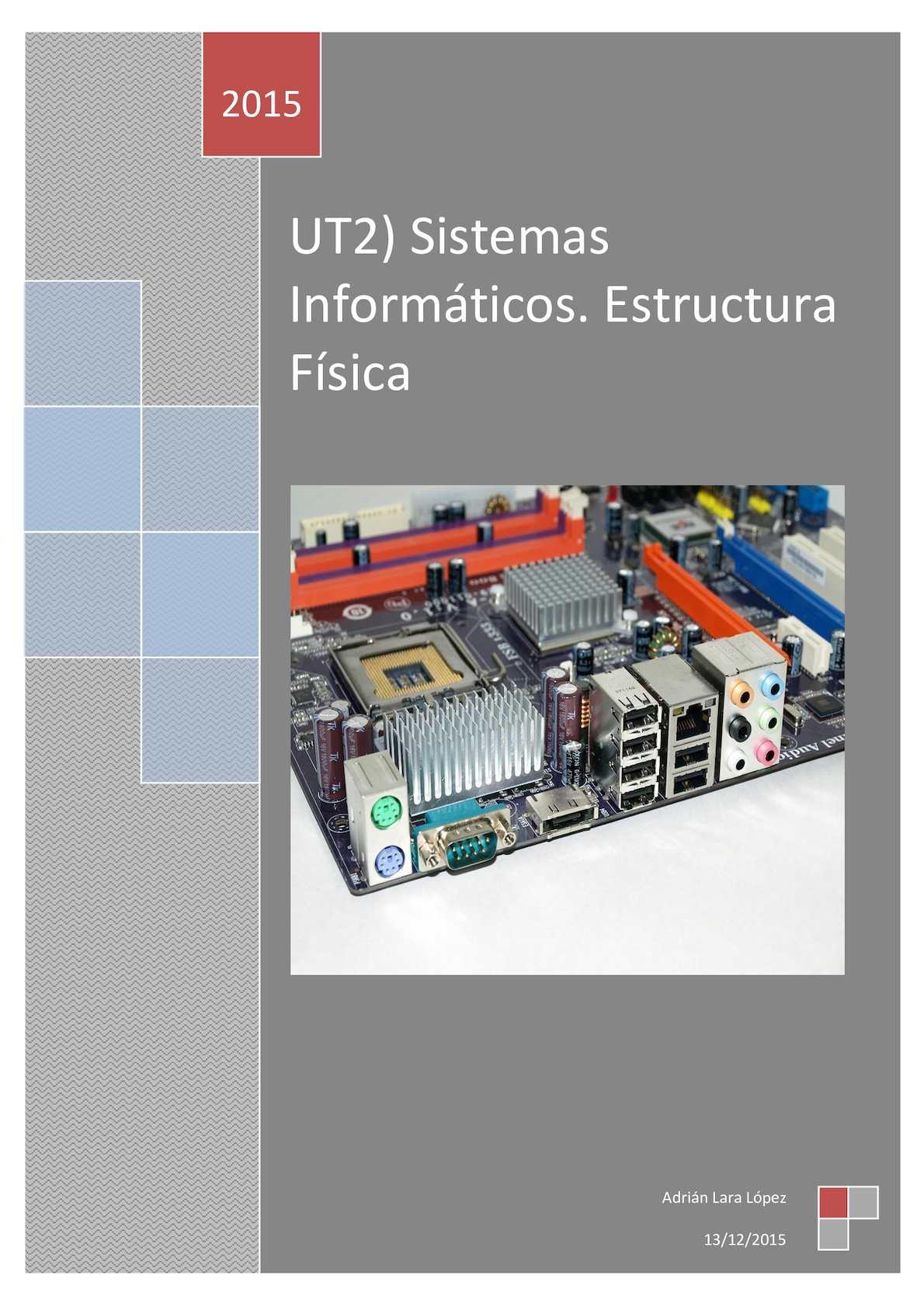 Calaméo Ut2 Sistemas Informáticos Estructura Física