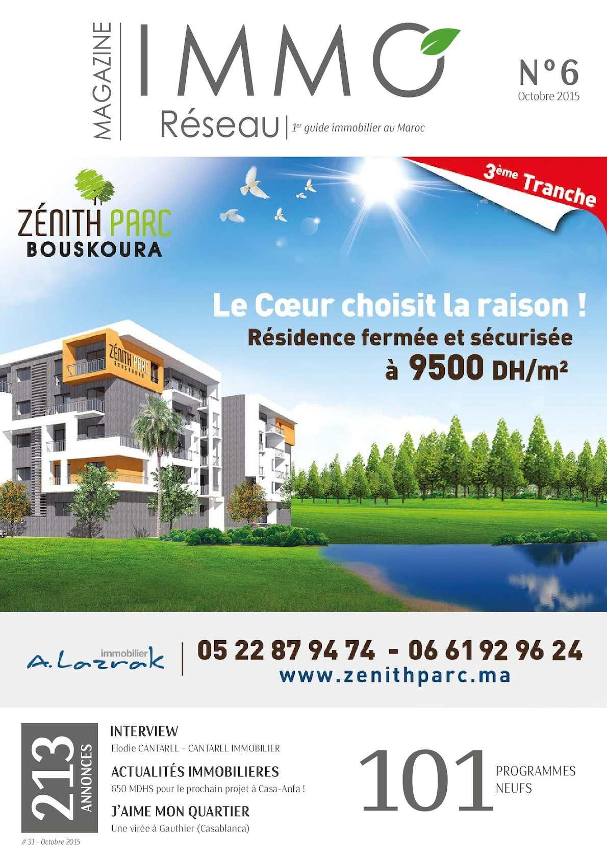 Calaméo Immoreseau Edition 31 Octobre 2015