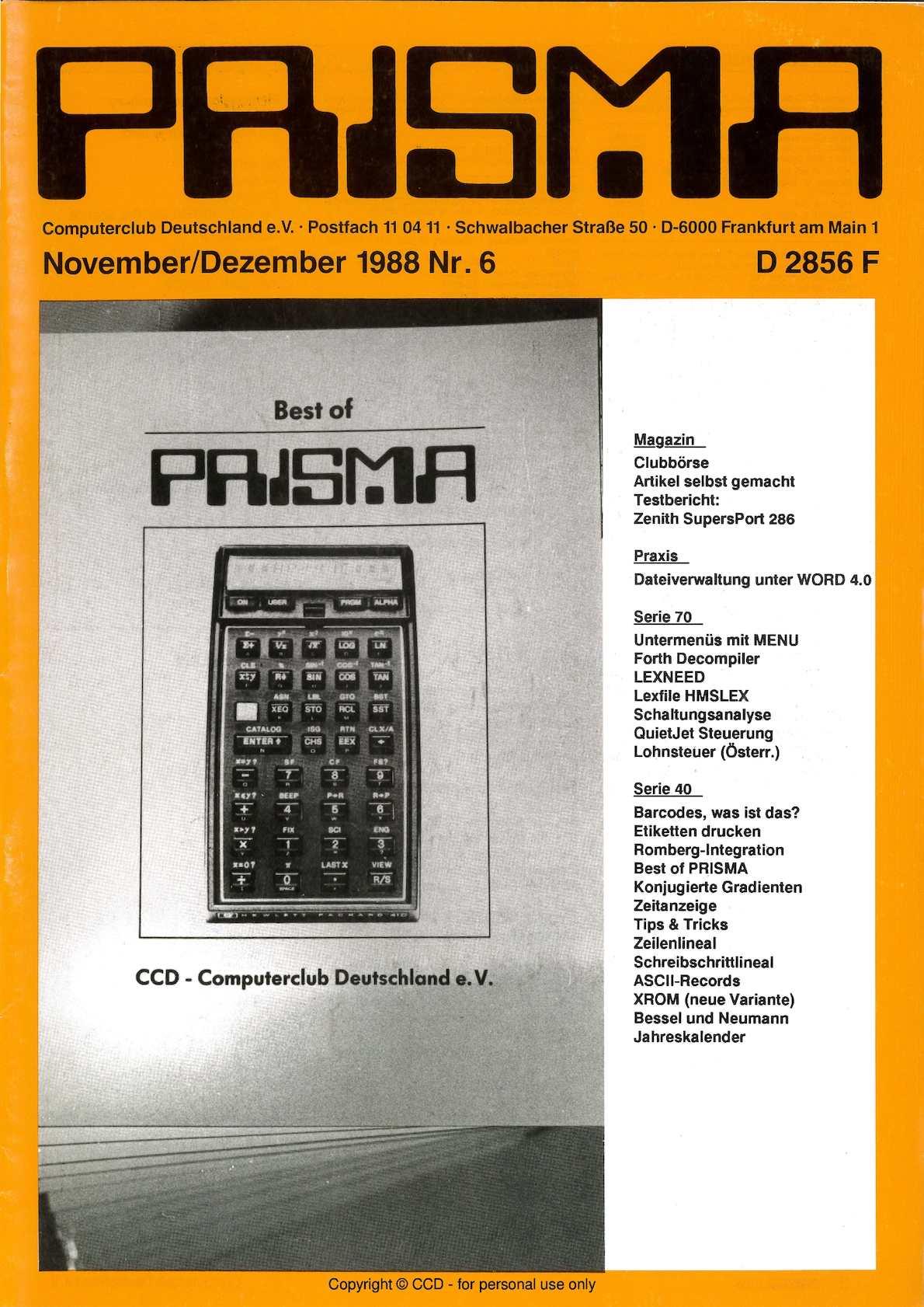 Ideen F303274r Weihnachtskarten.Calameo Prisma 1988 Nr 6